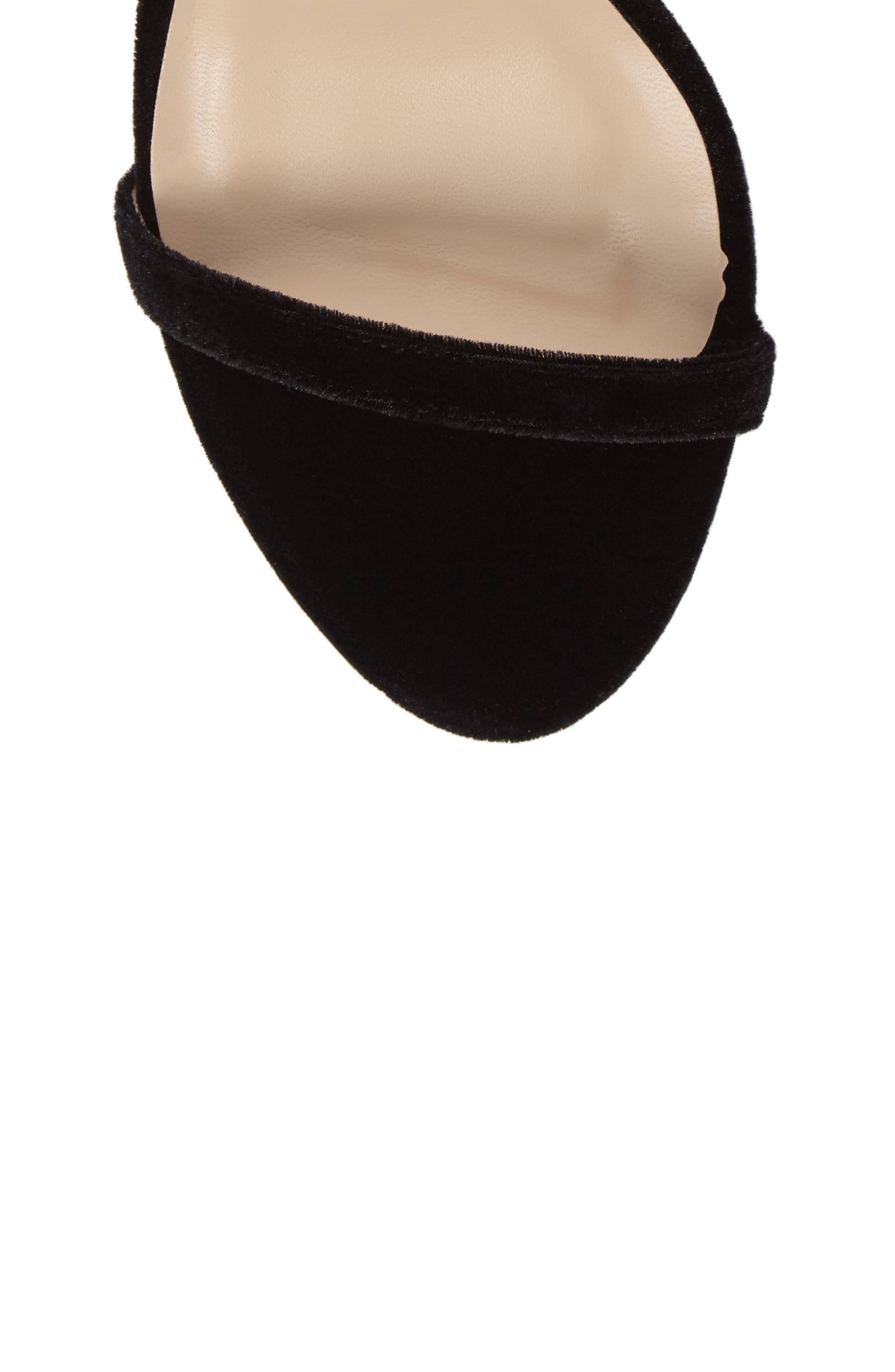 Mini Ankle Strap Sandal,                             Alternate thumbnail 5, color,                             001