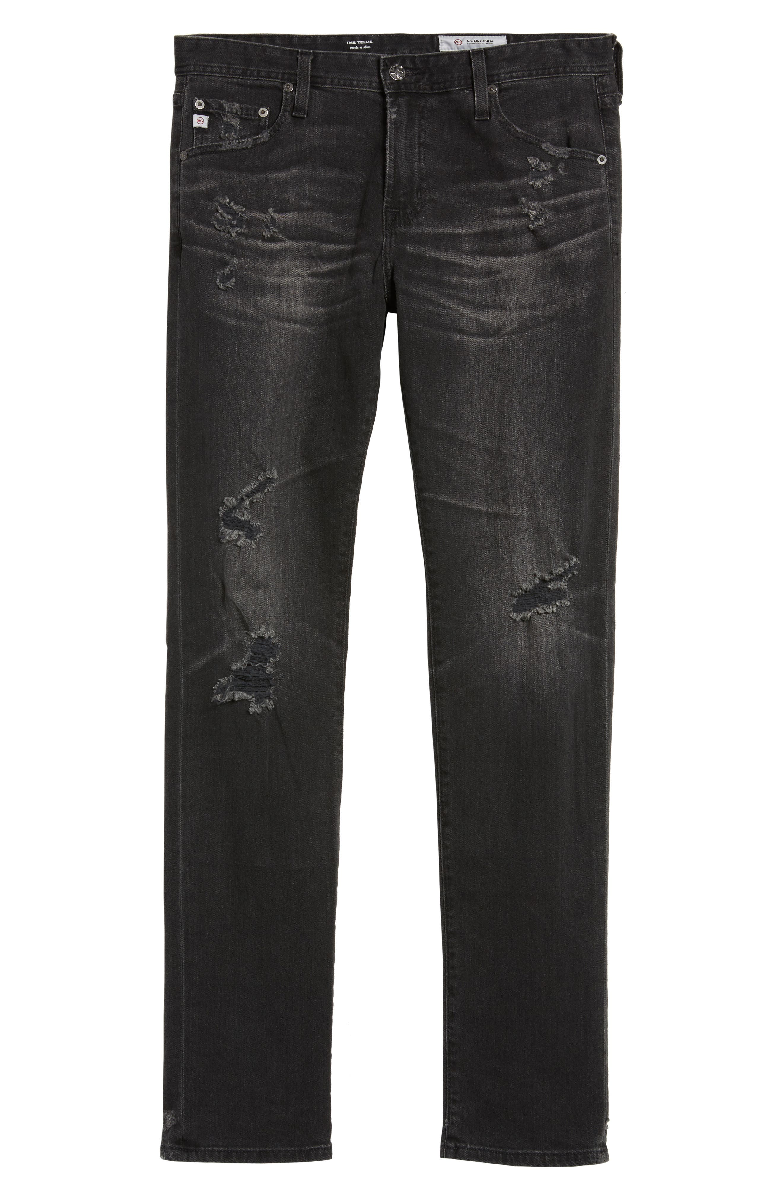 Tellis Slim Fit Jeans,                             Alternate thumbnail 6, color,