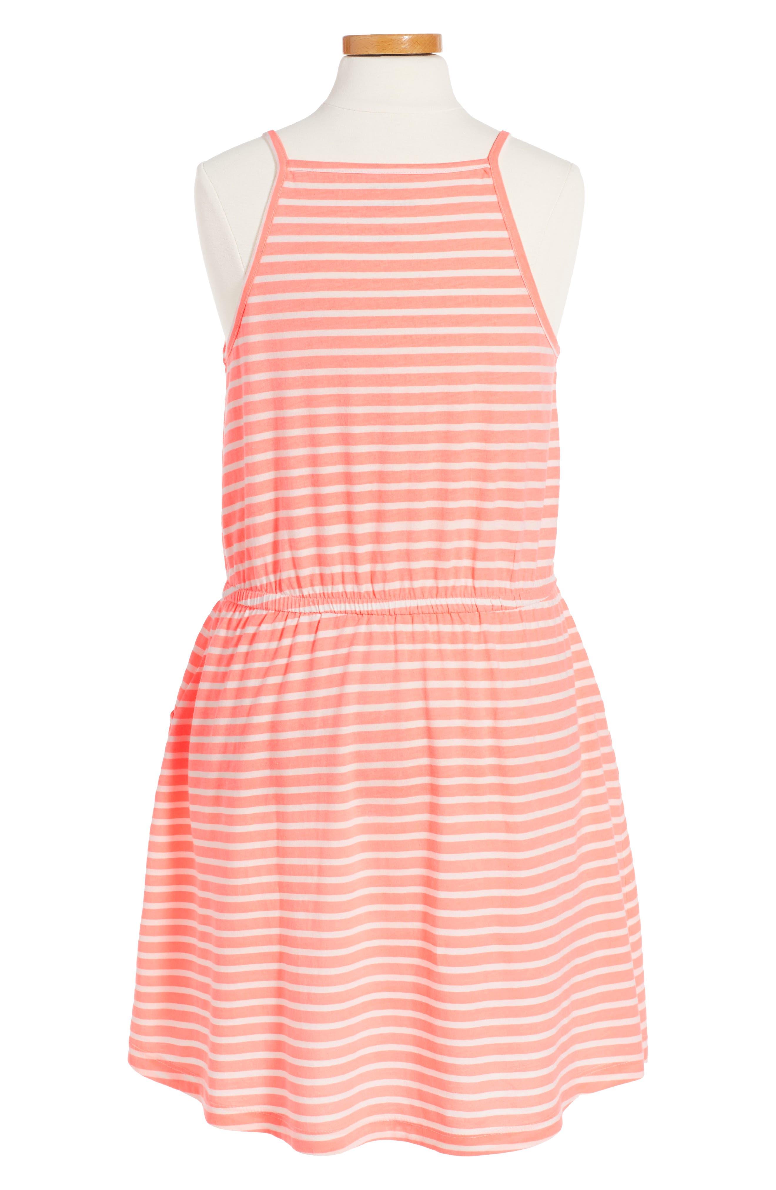 Jaden Stripe Dress,                             Alternate thumbnail 2, color,                             951