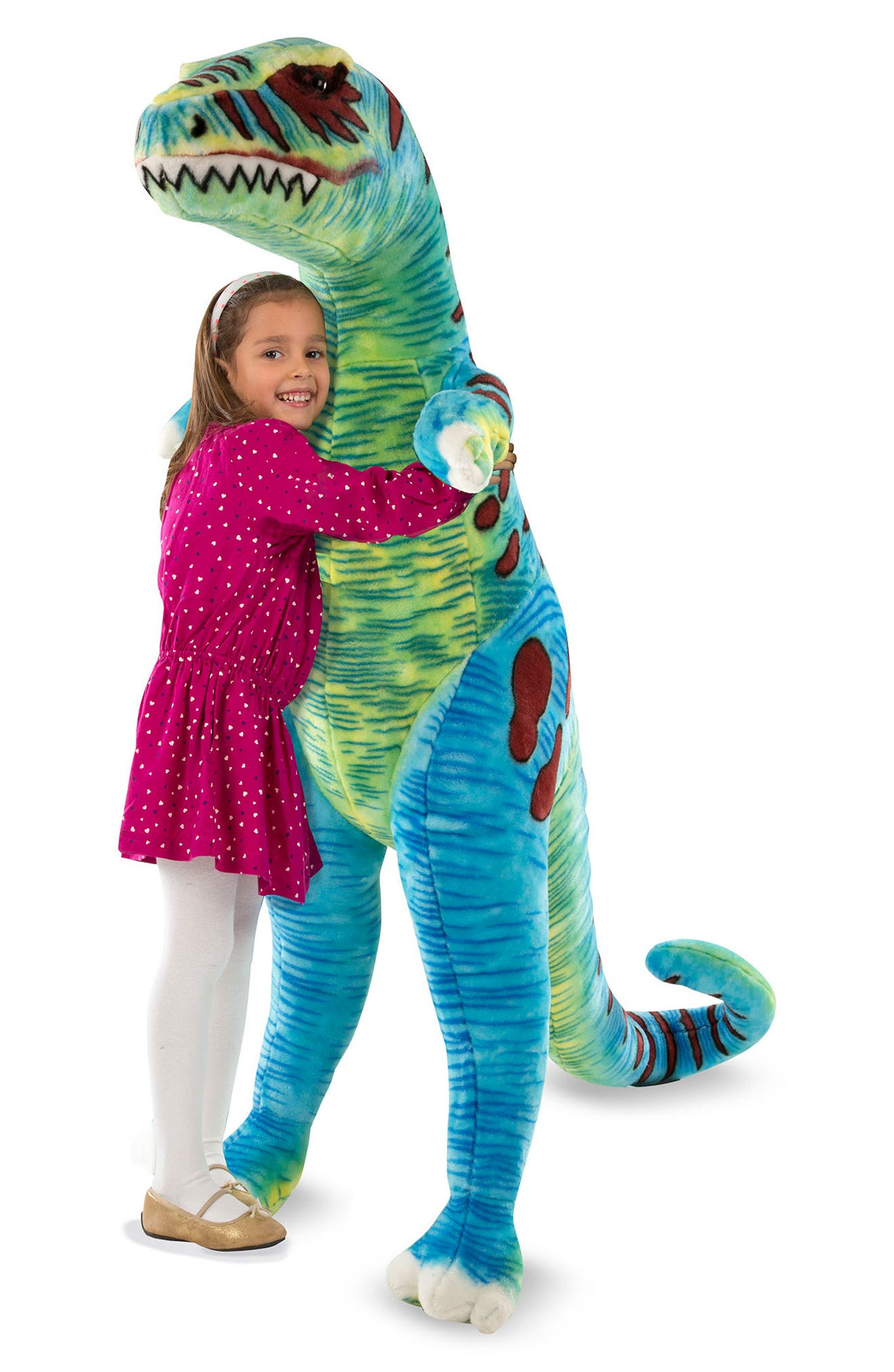 Giant T-Rex Plush,                             Alternate thumbnail 2, color,                             300