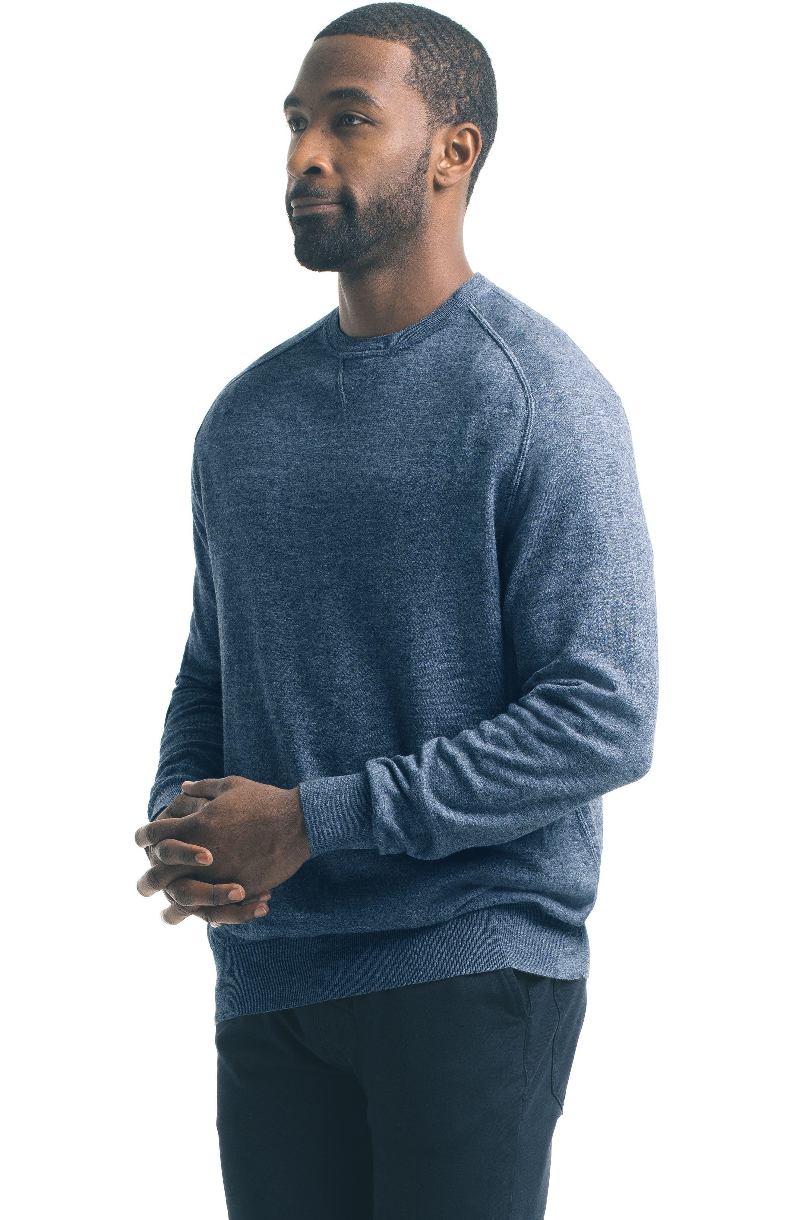Slub Pullover Sweater,                             Alternate thumbnail 15, color,