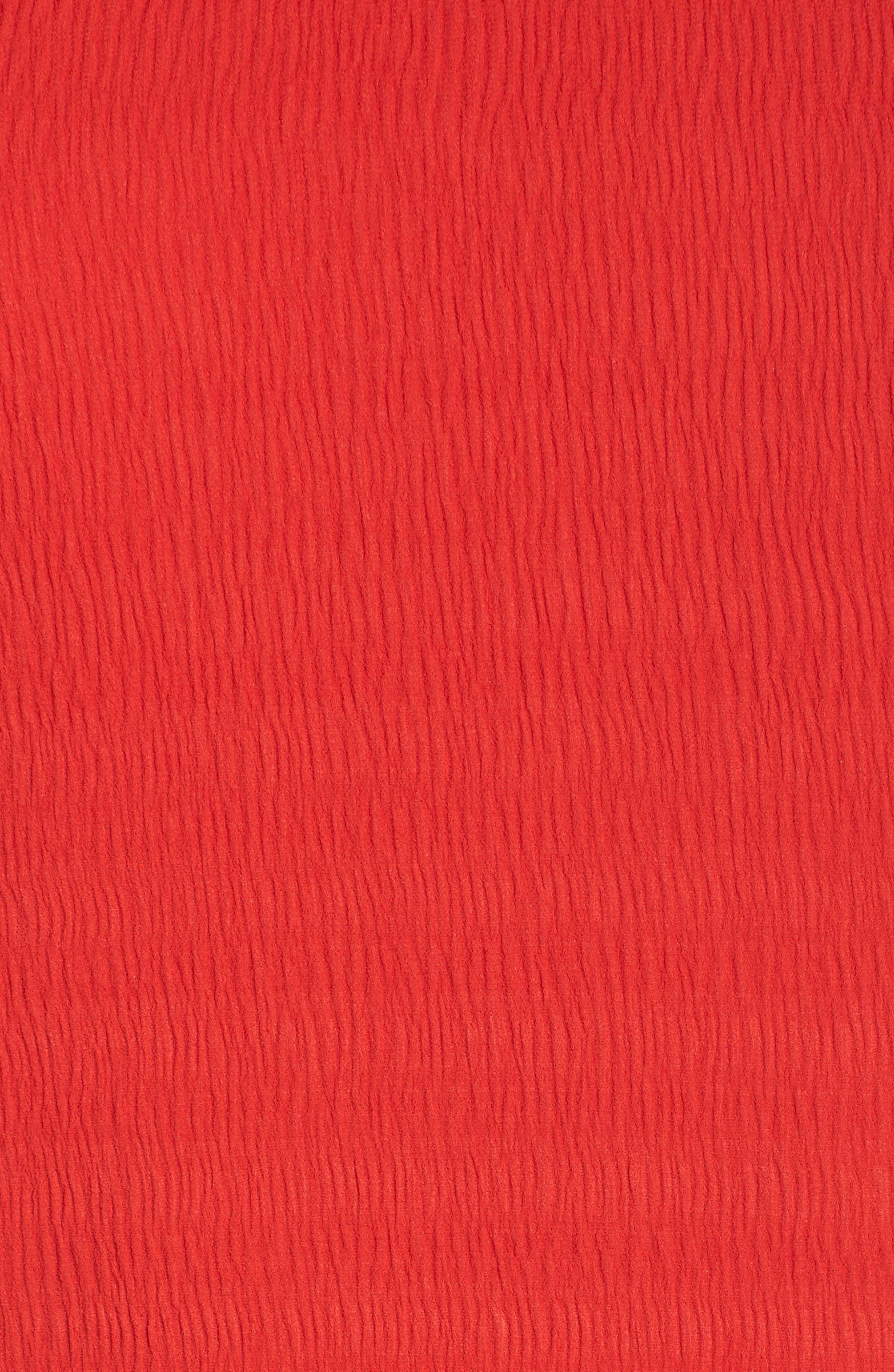 Ti Amo Ruched Halter Dress,                             Alternate thumbnail 6, color,                             620