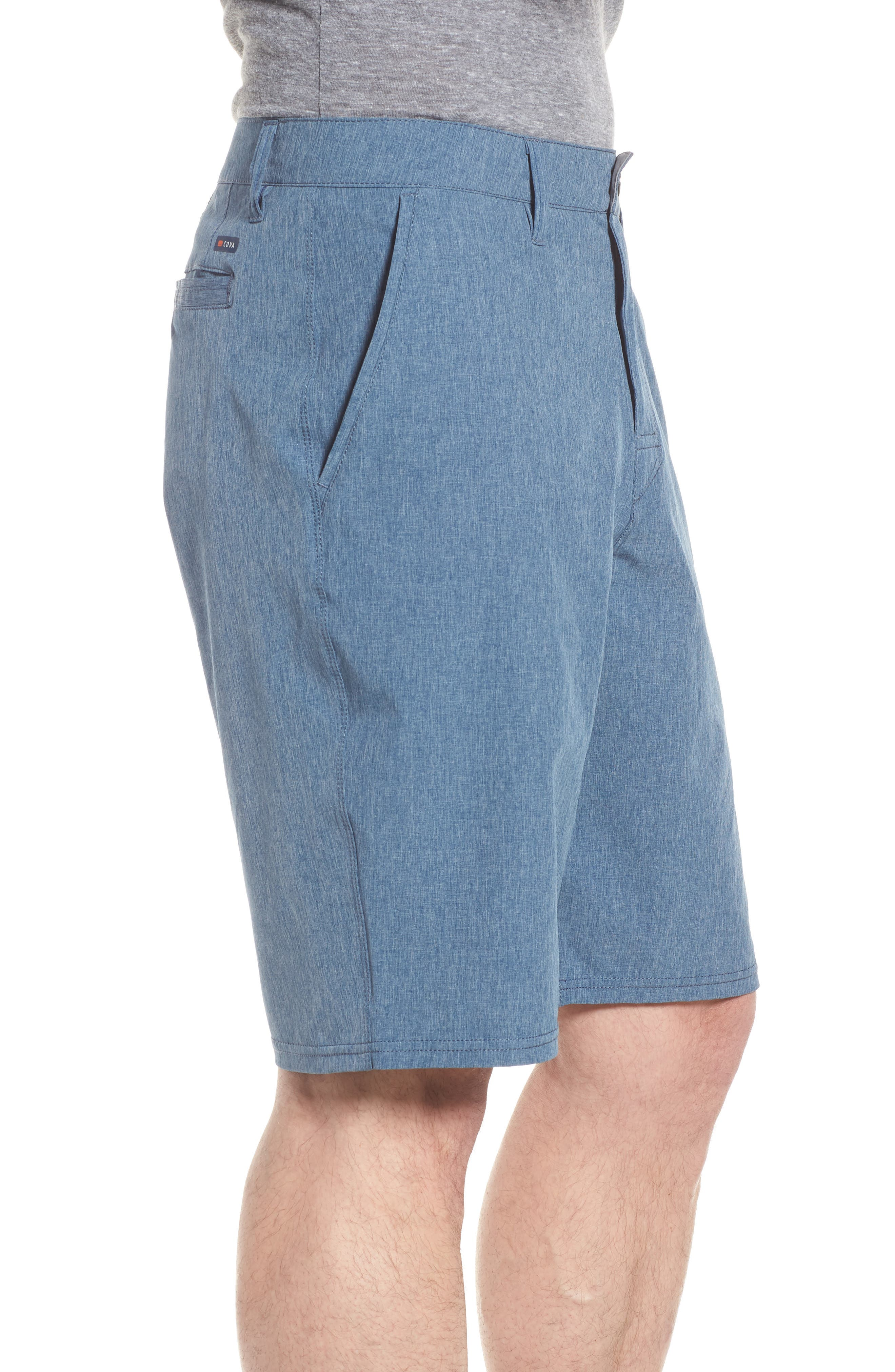 Salty Dog Hybrid Shorts,                             Alternate thumbnail 3, color,                             DEEP SEA