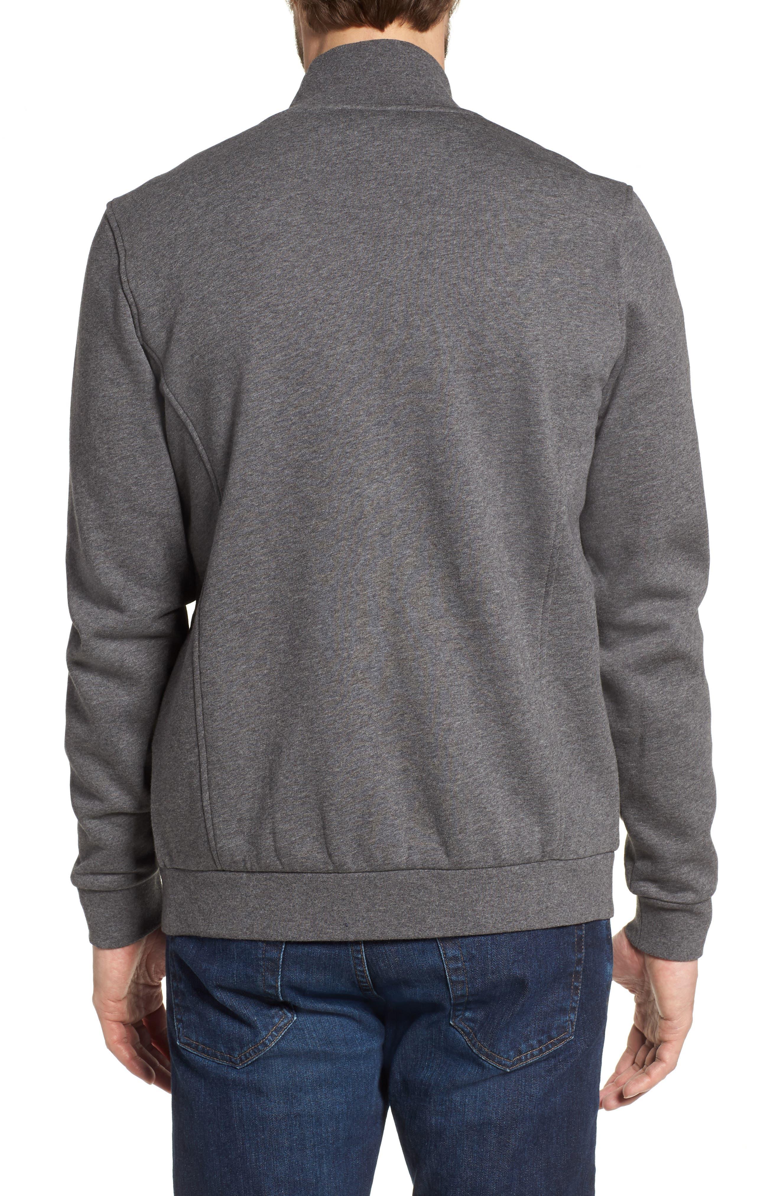 Fleece Zip Jacket,                             Alternate thumbnail 6, color,