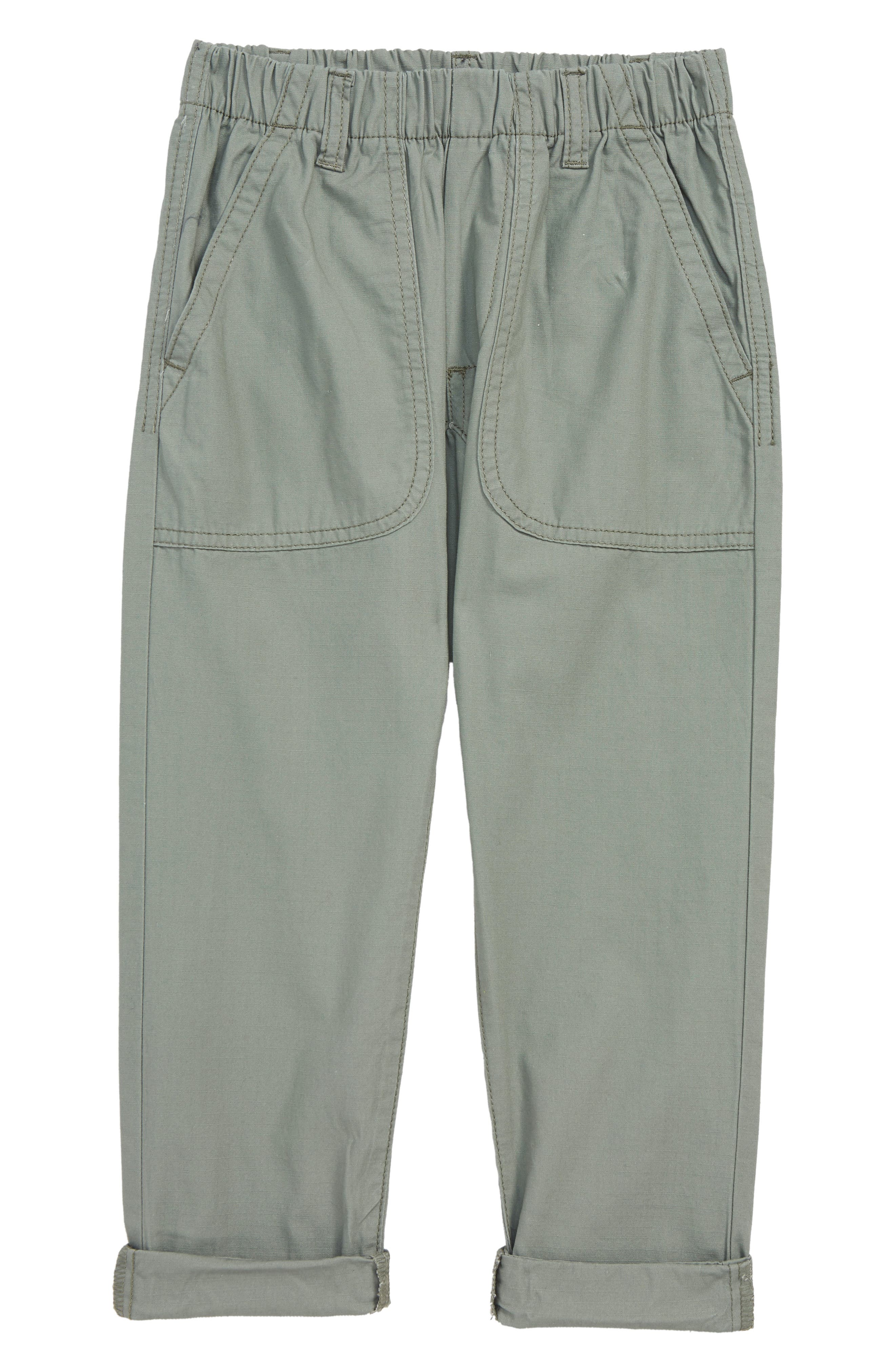 Pull On Pants,                         Main,                         color, GREEN AGAVE