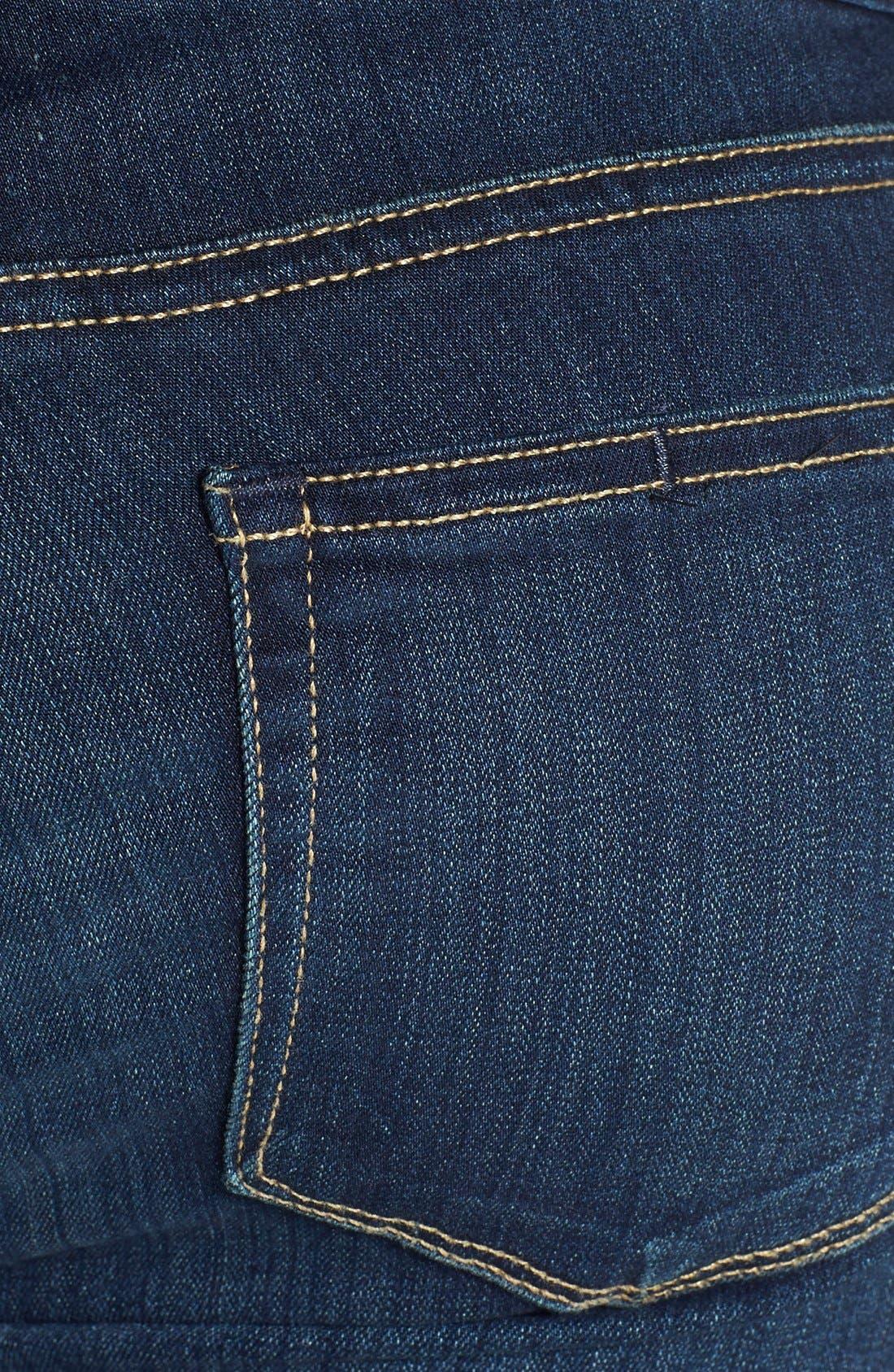 Transcend - Skyline Straight Leg Jeans,                             Alternate thumbnail 4, color,                             400