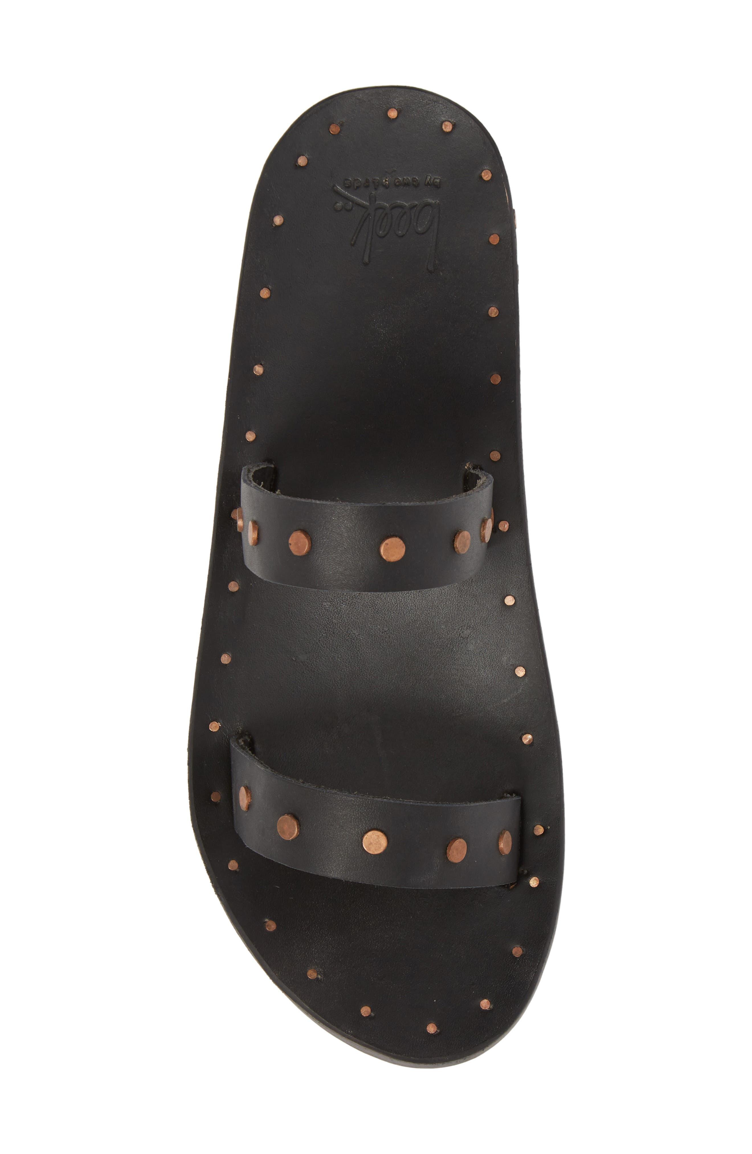 Woodpecker Studded Slide Sandal,                             Alternate thumbnail 9, color,