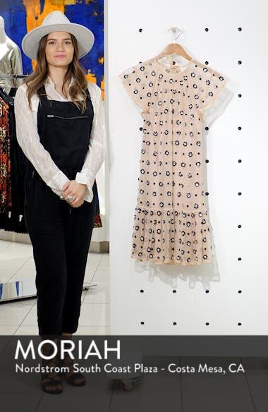 Floral Sequin Drop Waist Dress, sales video thumbnail