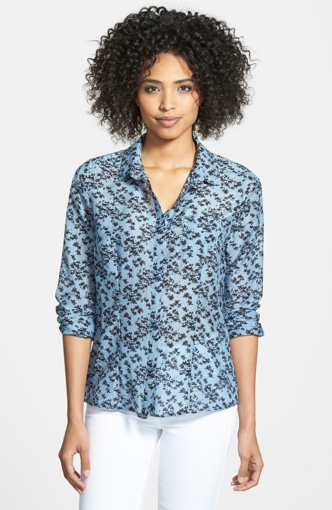 Cotton & Silk Shirt,                             Main thumbnail 30, color,