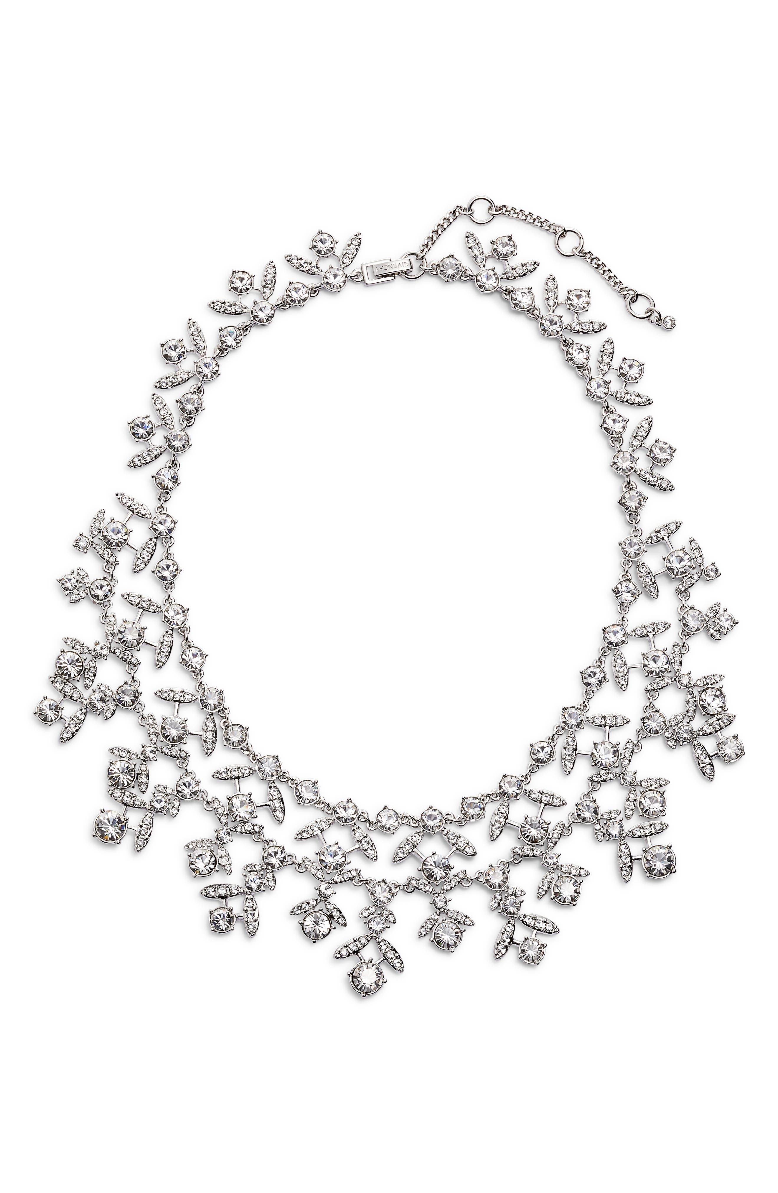 Crystal Collar Necklace,                             Main thumbnail 1, color,                             040