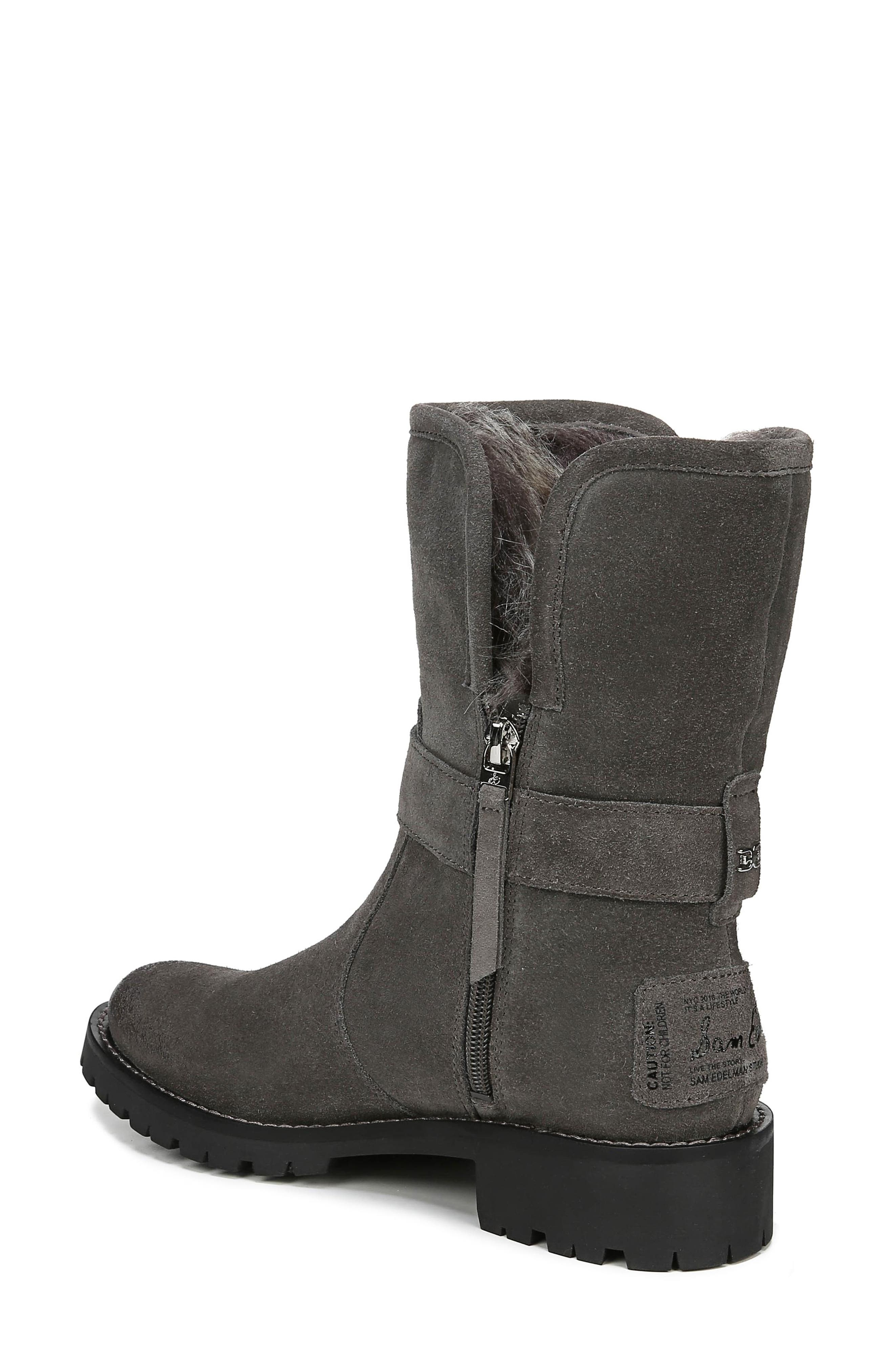 Jeanie Boot,                             Alternate thumbnail 2, color,                             STEEL GREY SUEDE
