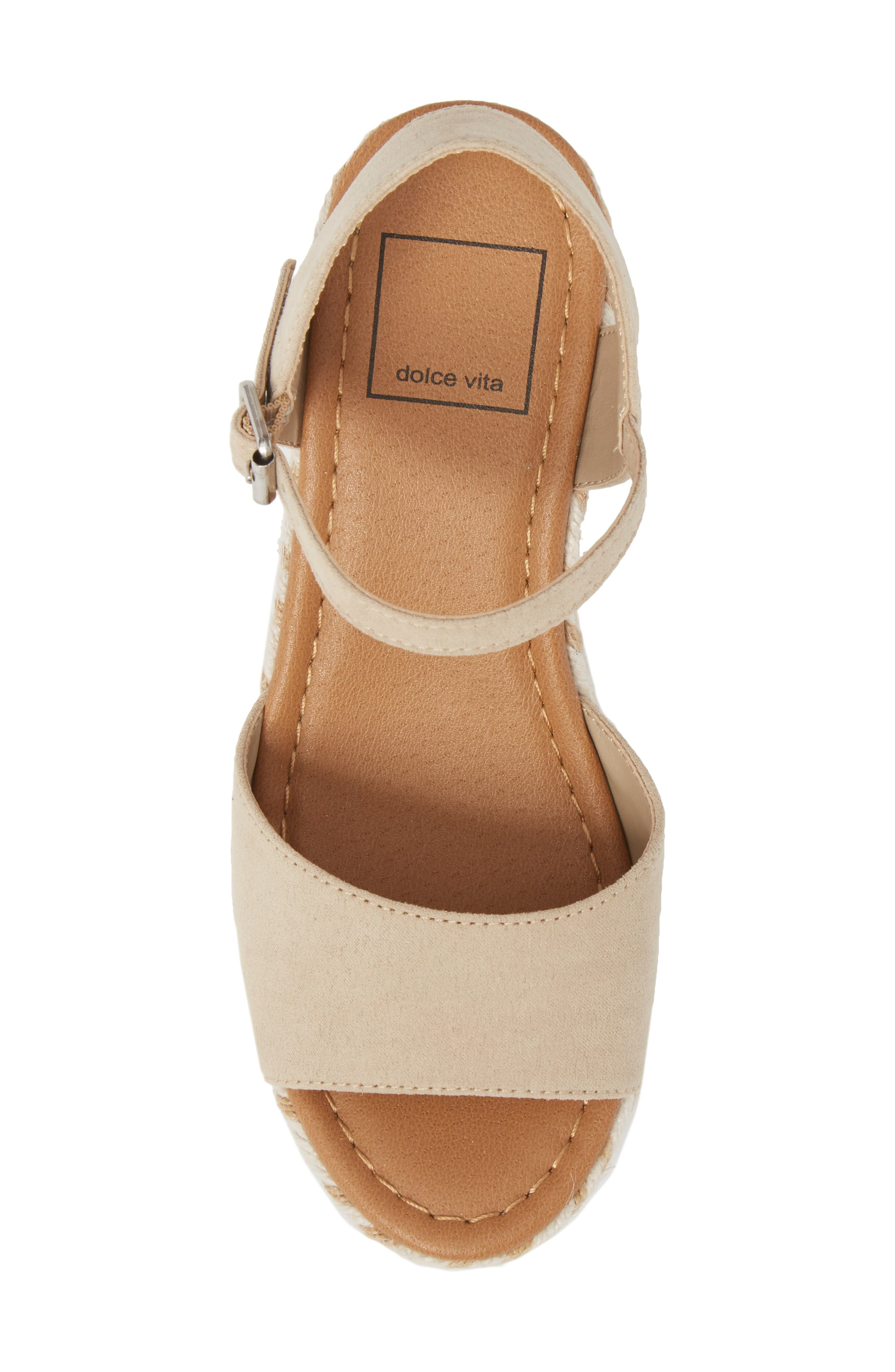 Wendy Espadrille Wedge Sandal,                             Alternate thumbnail 5, color,                             277