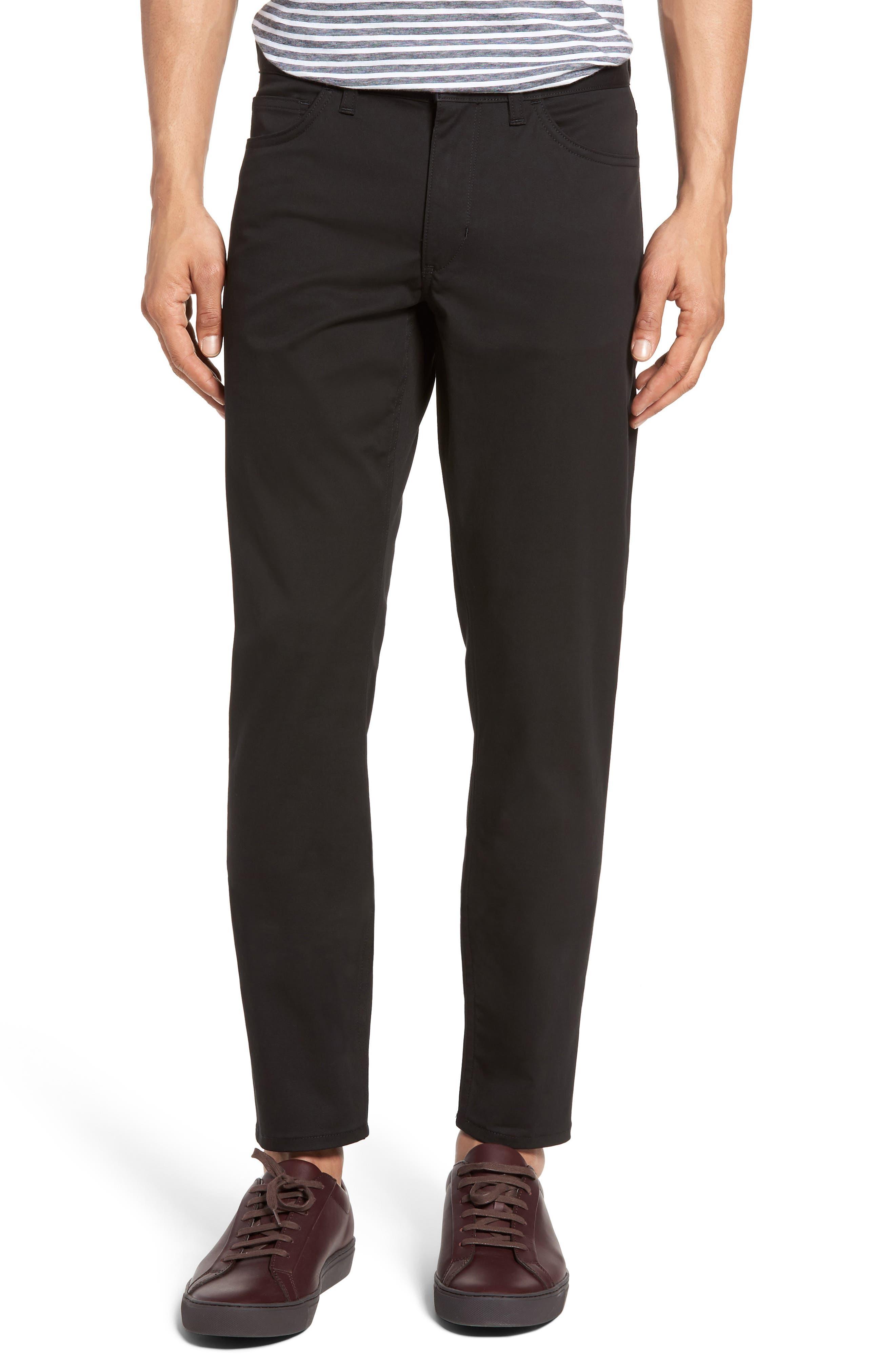 Haydin Writer Straight Leg Pants,                         Main,                         color, 002