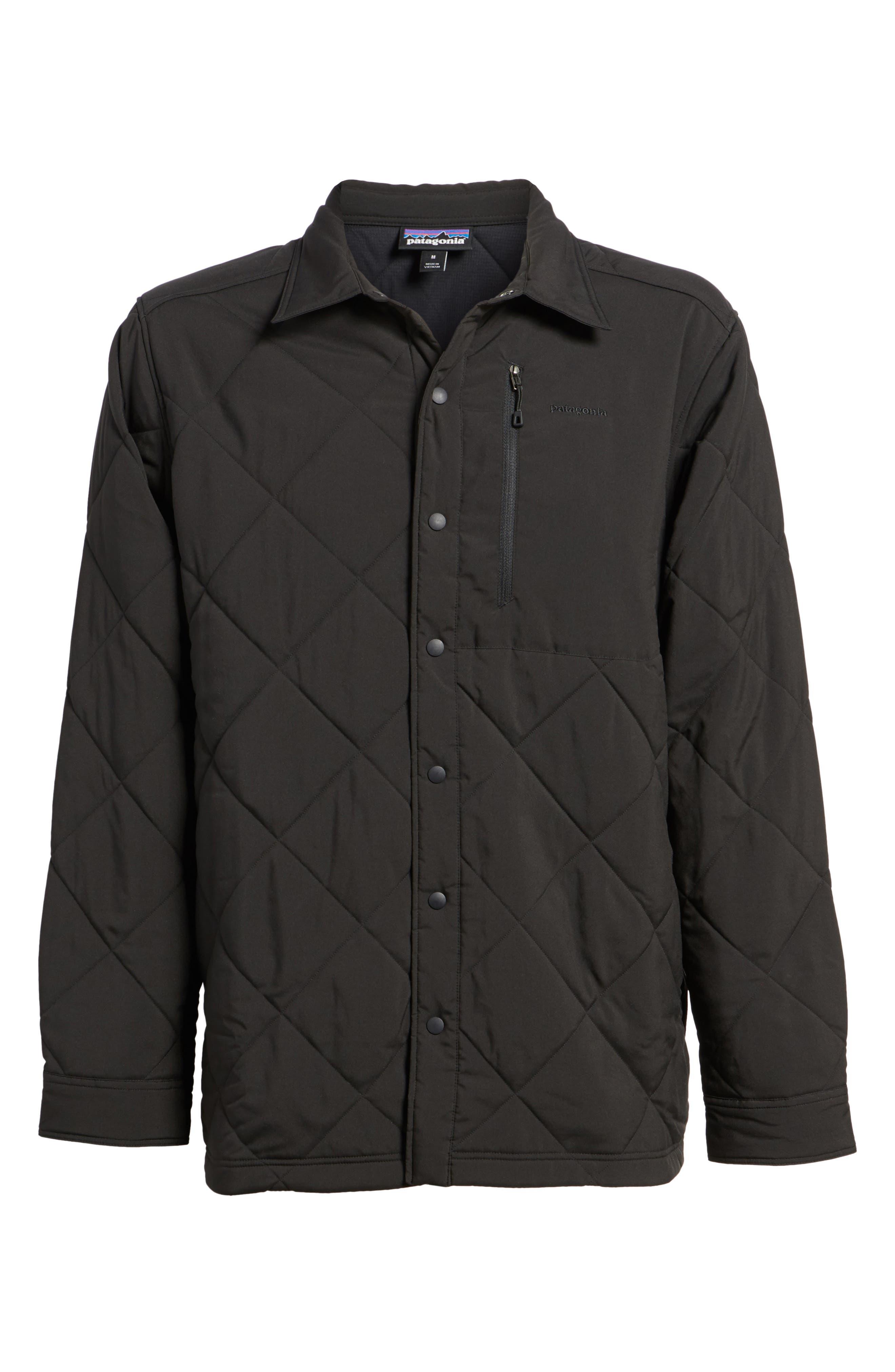 Tough Puff Shirt Jacket,                             Alternate thumbnail 6, color,                             001