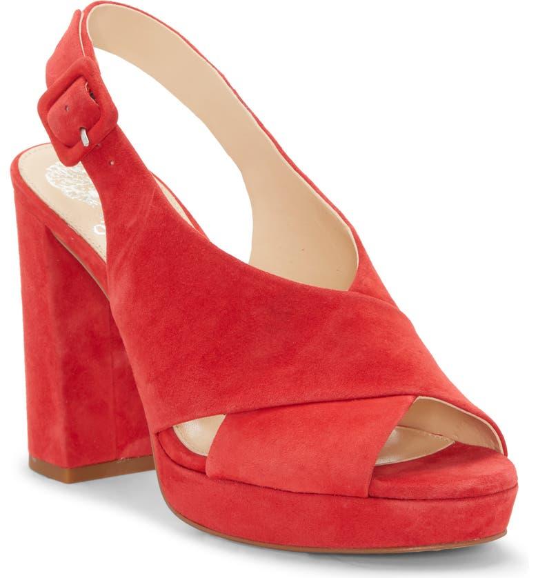 1ce71f19e08 Vince Camuto Slingback Platform Sandal (Women)