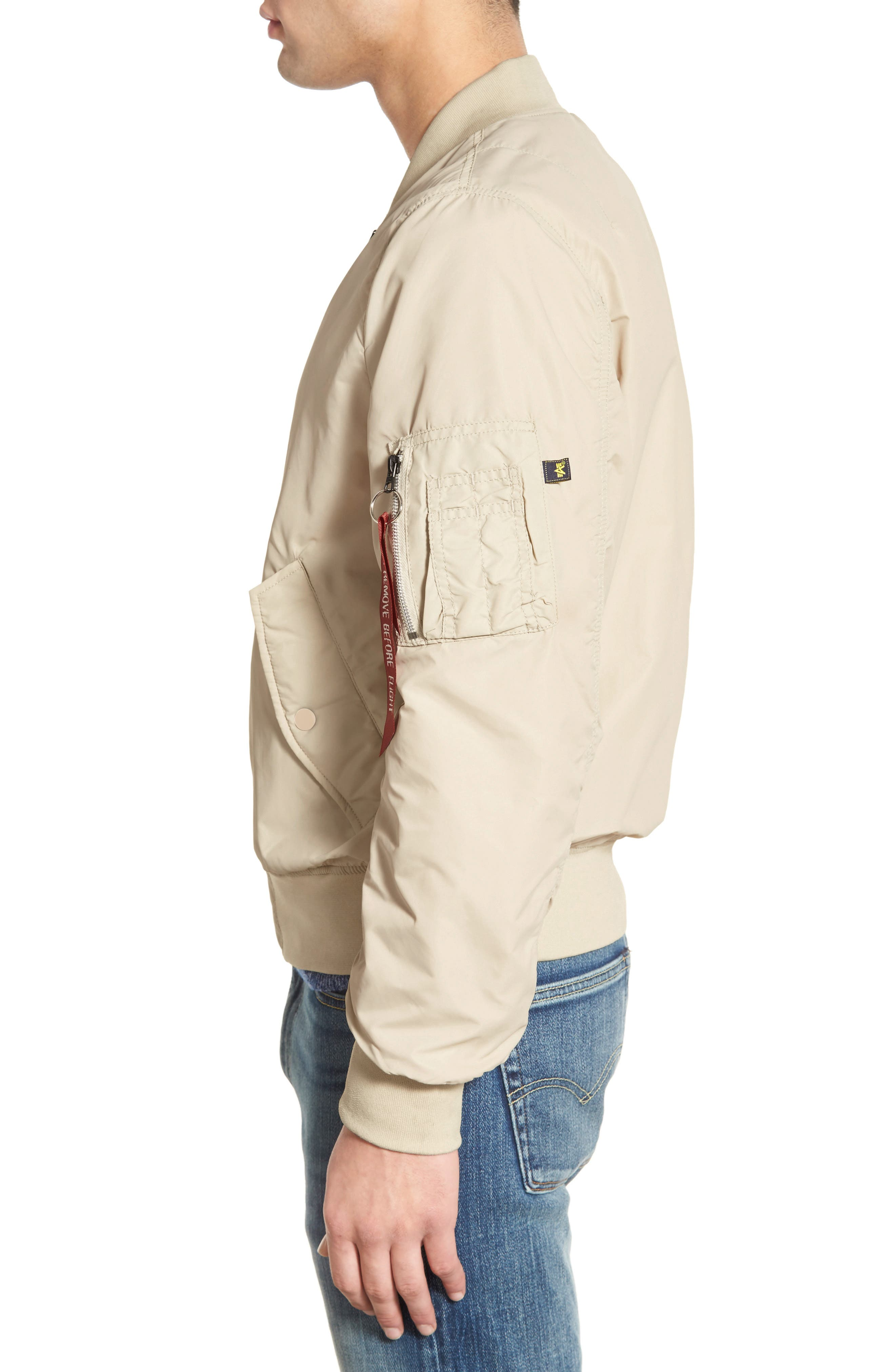 LB-2 Scout Reversible Flight Jacket,                             Alternate thumbnail 28, color,