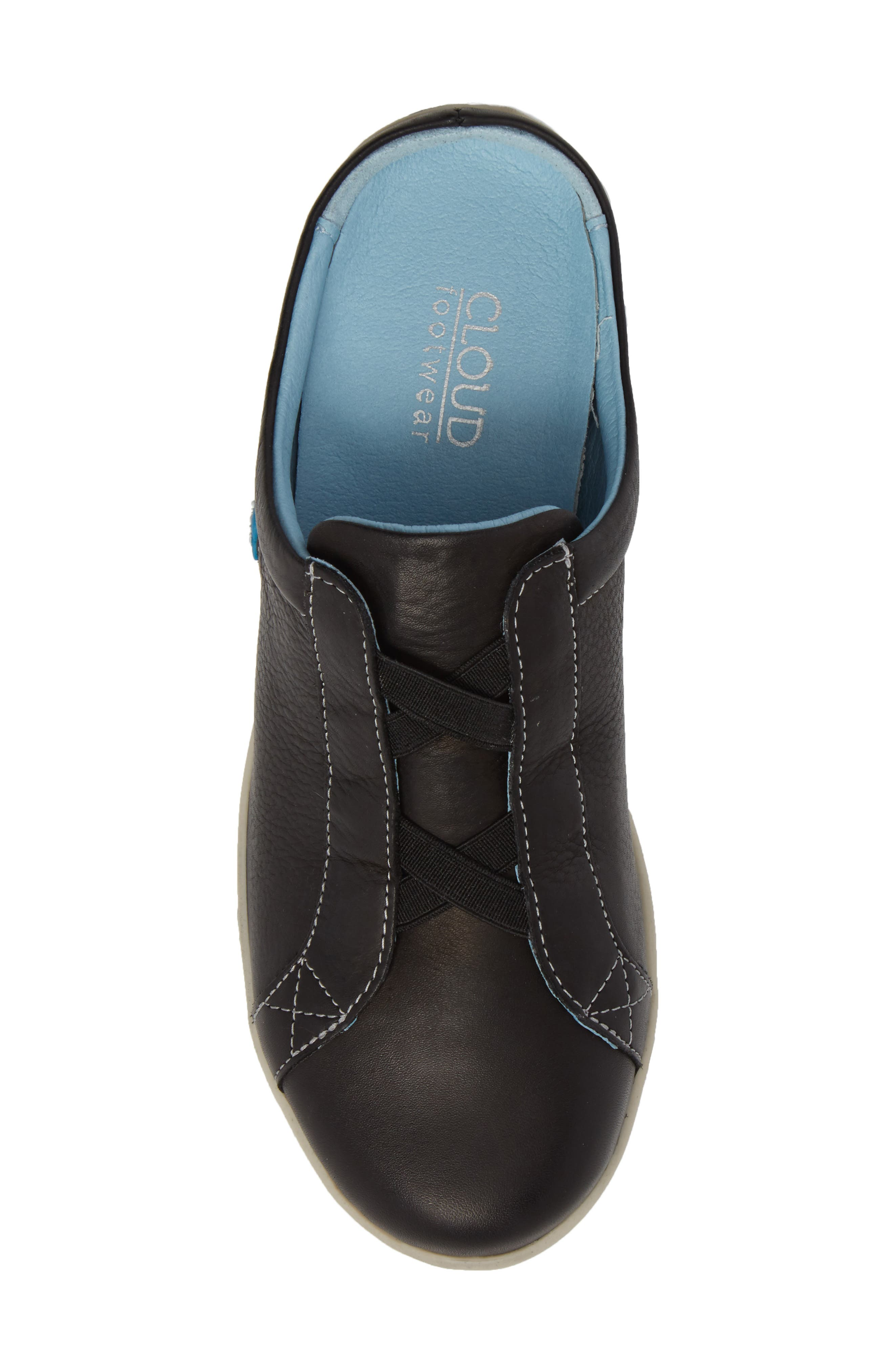Arizona Sneaker,                             Alternate thumbnail 5, color,                             BLACK LEATHER