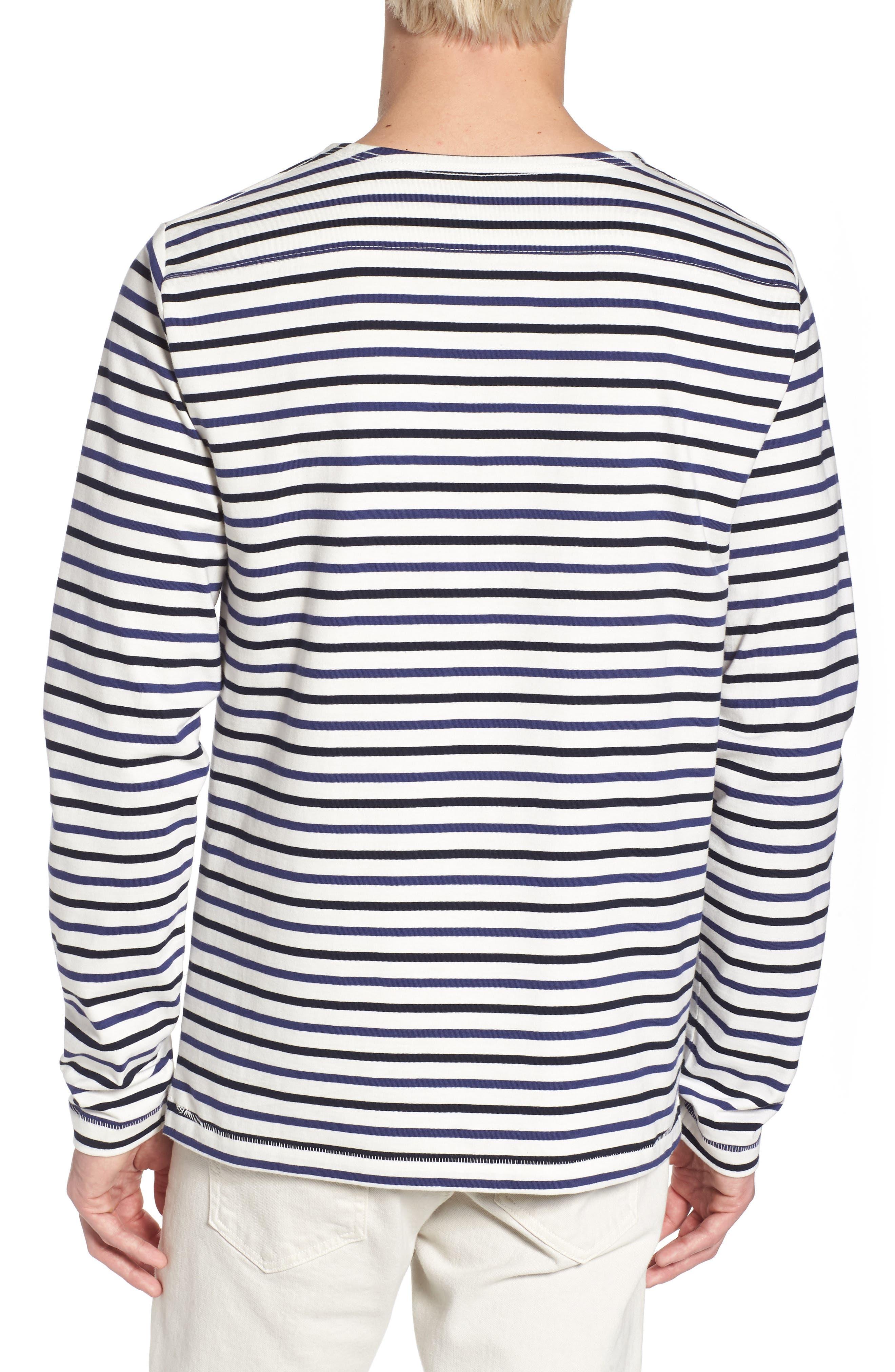 Slim Fit Franstripe Shirt,                             Alternate thumbnail 2, color,                             410