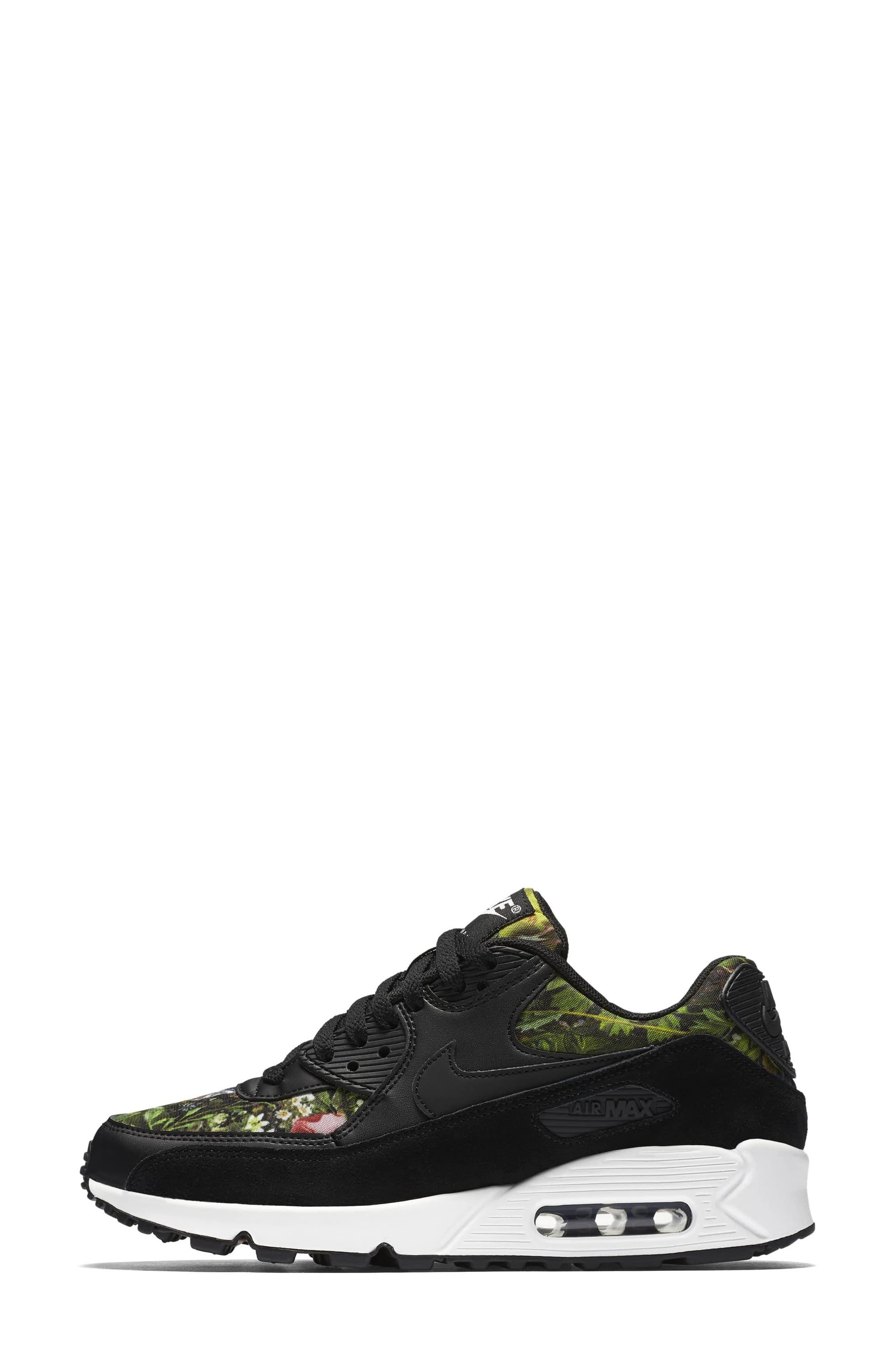 Air Max 90 SE Sneaker,                             Alternate thumbnail 22, color,
