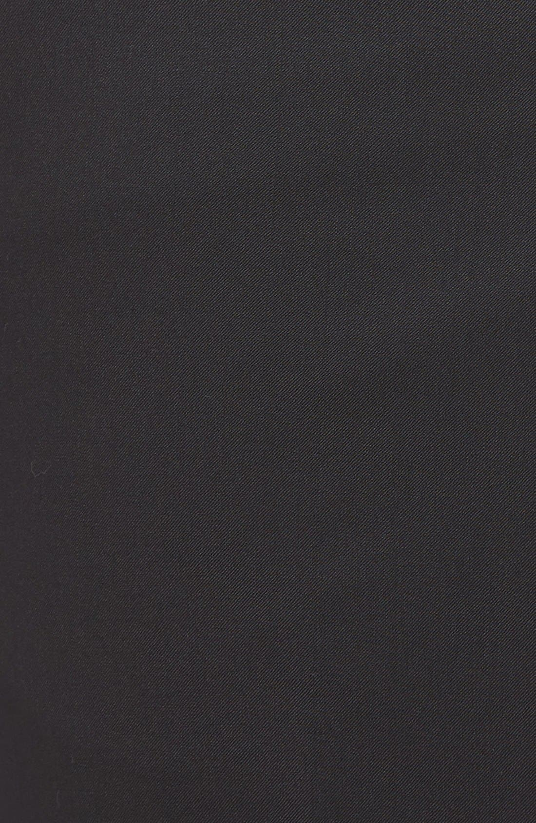 Ryan Regular Fit Wool Trousers,                             Alternate thumbnail 5, color,                             001