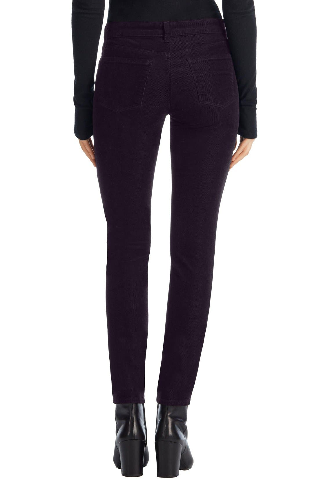 Skinny Corduroy Pants,                             Alternate thumbnail 8, color,