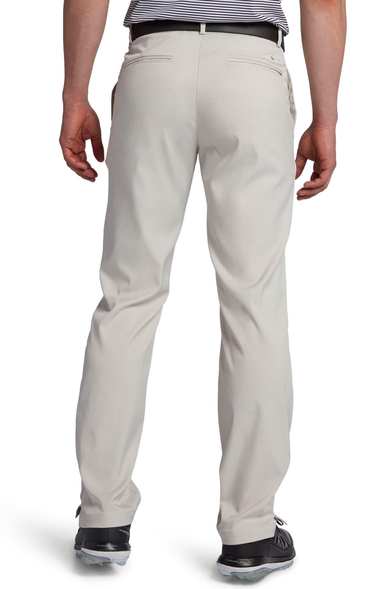Flat Front Dri-FIT Tech Golf Pants,                             Alternate thumbnail 2, color,                             LIGHT BONE/ LIGHT BONE