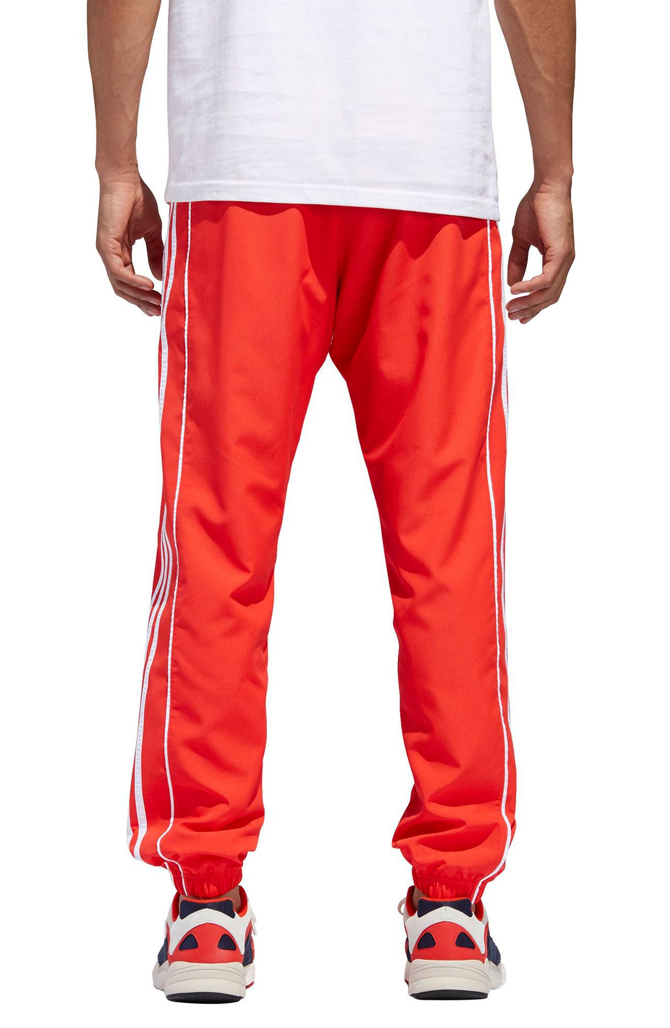 Authentics Ripstop Track Pants,                             Alternate thumbnail 2, color,                             HI-RES RED/ WHITE