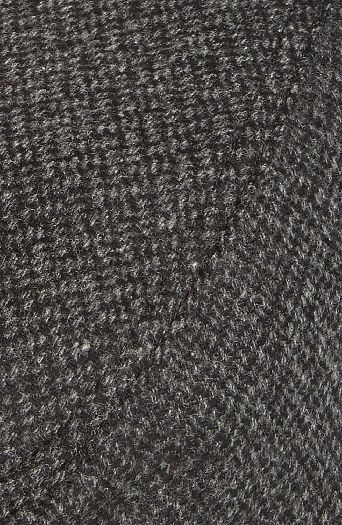 Ted Baker Thompson Wool Blend Flat Driving Cap,                             Alternate thumbnail 2, color,                             010