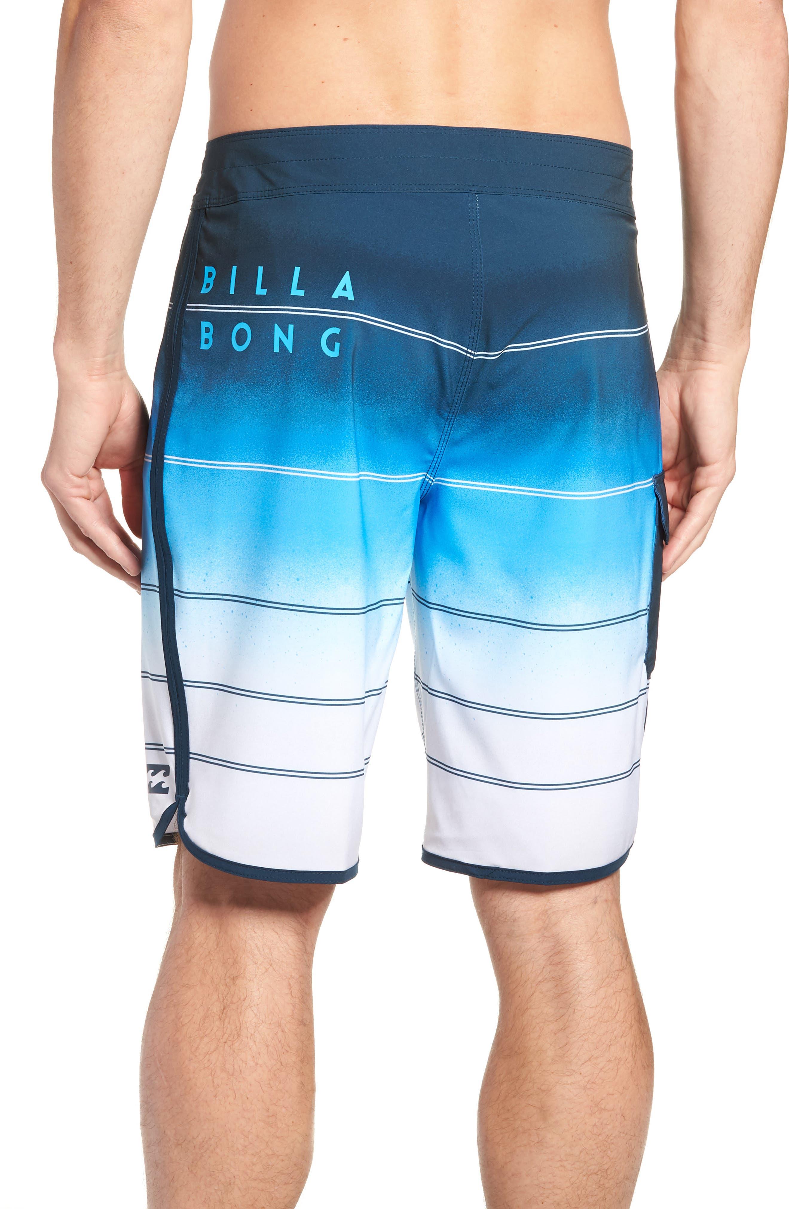73 X Stripe Board Shorts,                             Alternate thumbnail 2, color,                             428