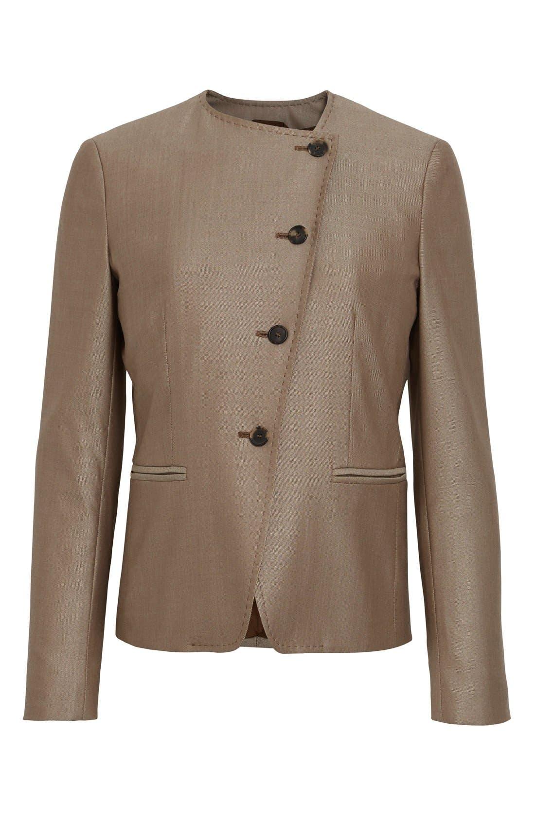 Erba Asymmetrical Jacket,                             Alternate thumbnail 10, color,                             220