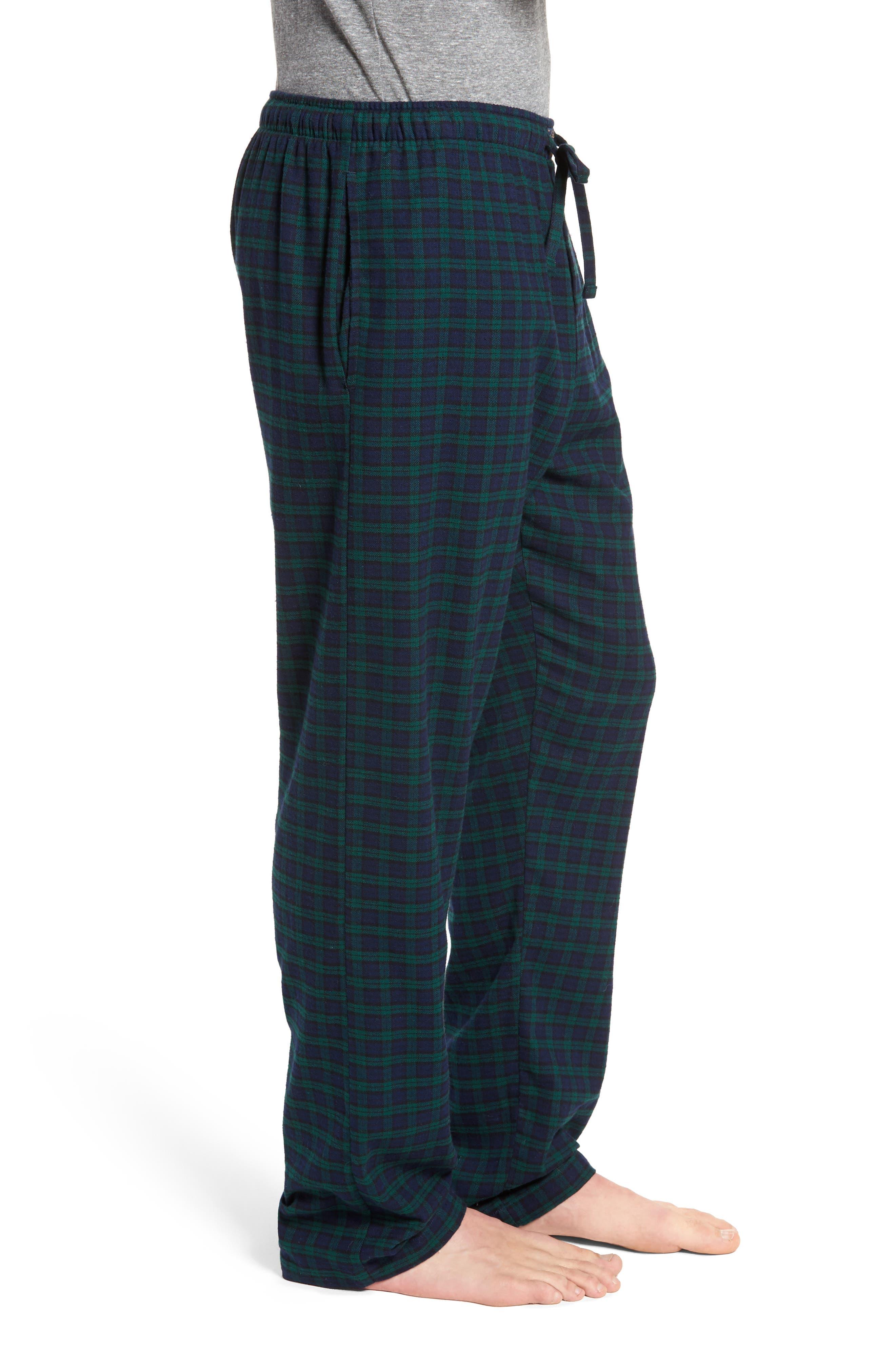 Flannel Pajama Pants,                             Alternate thumbnail 33, color,