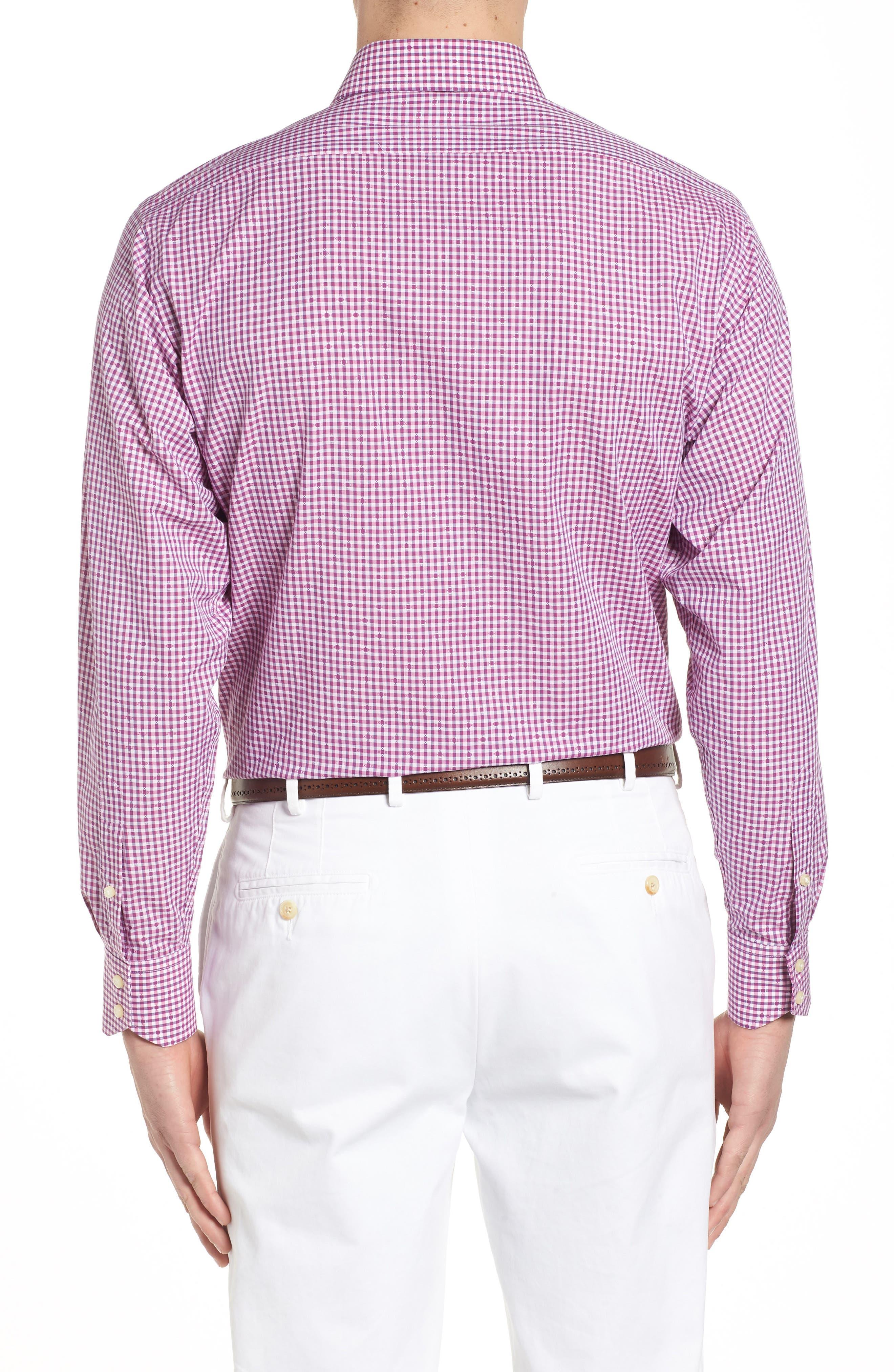 Mini Check Sport Shirt,                             Alternate thumbnail 4, color,