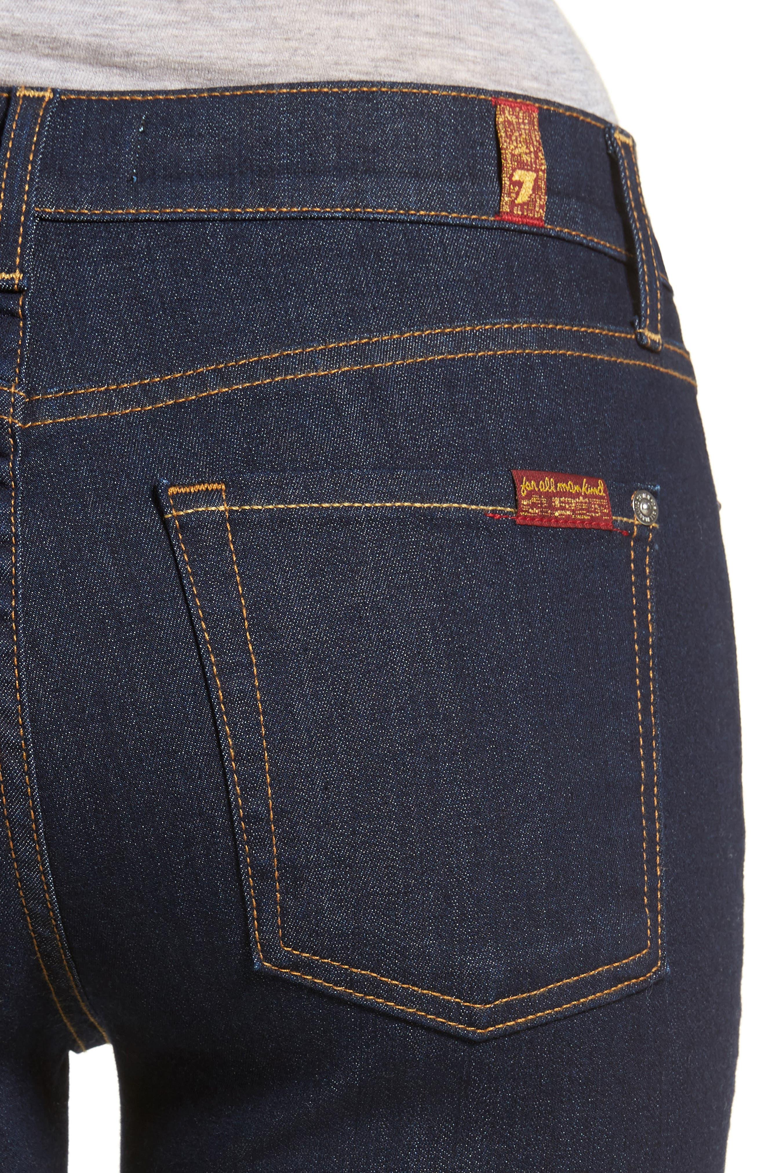 b(air) Roxanne Ankle Skinny Jeans,                             Alternate thumbnail 4, color,                             401