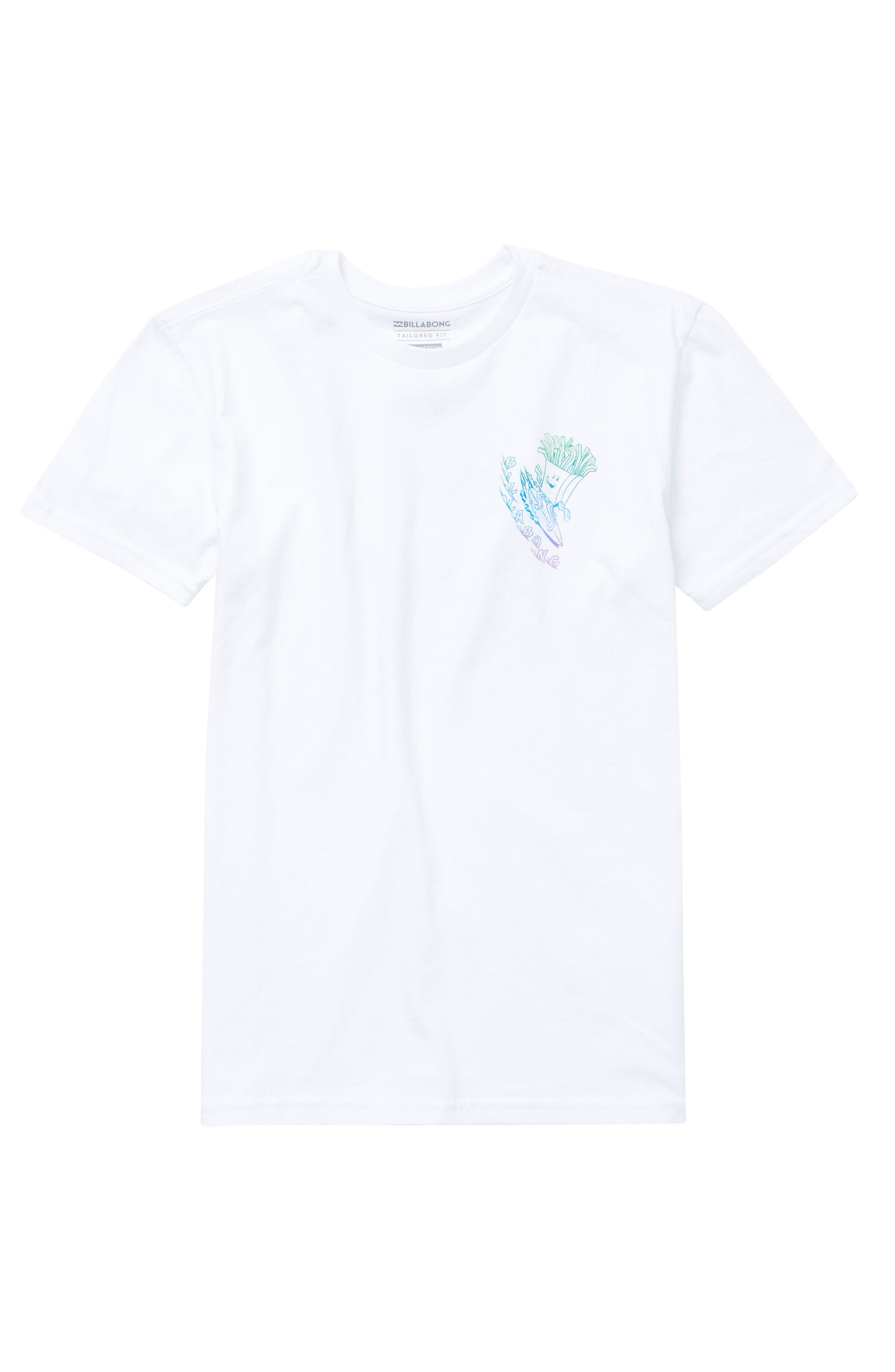 Snacks & Shacks Graphic T-Shirt,                             Alternate thumbnail 4, color,