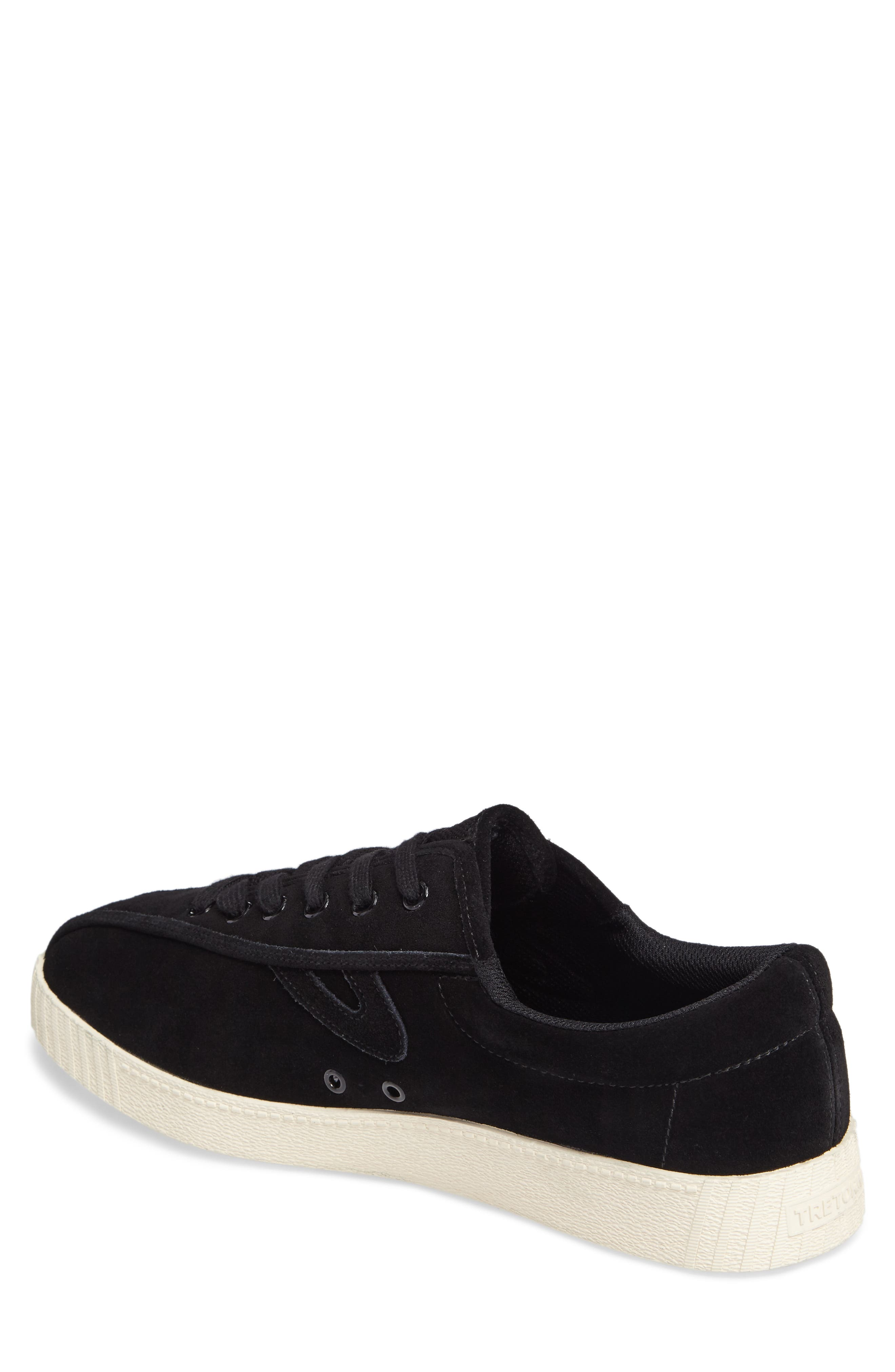 Nylite 16 Sneaker,                             Alternate thumbnail 2, color,                             BLACK/ BLACK SUEDE