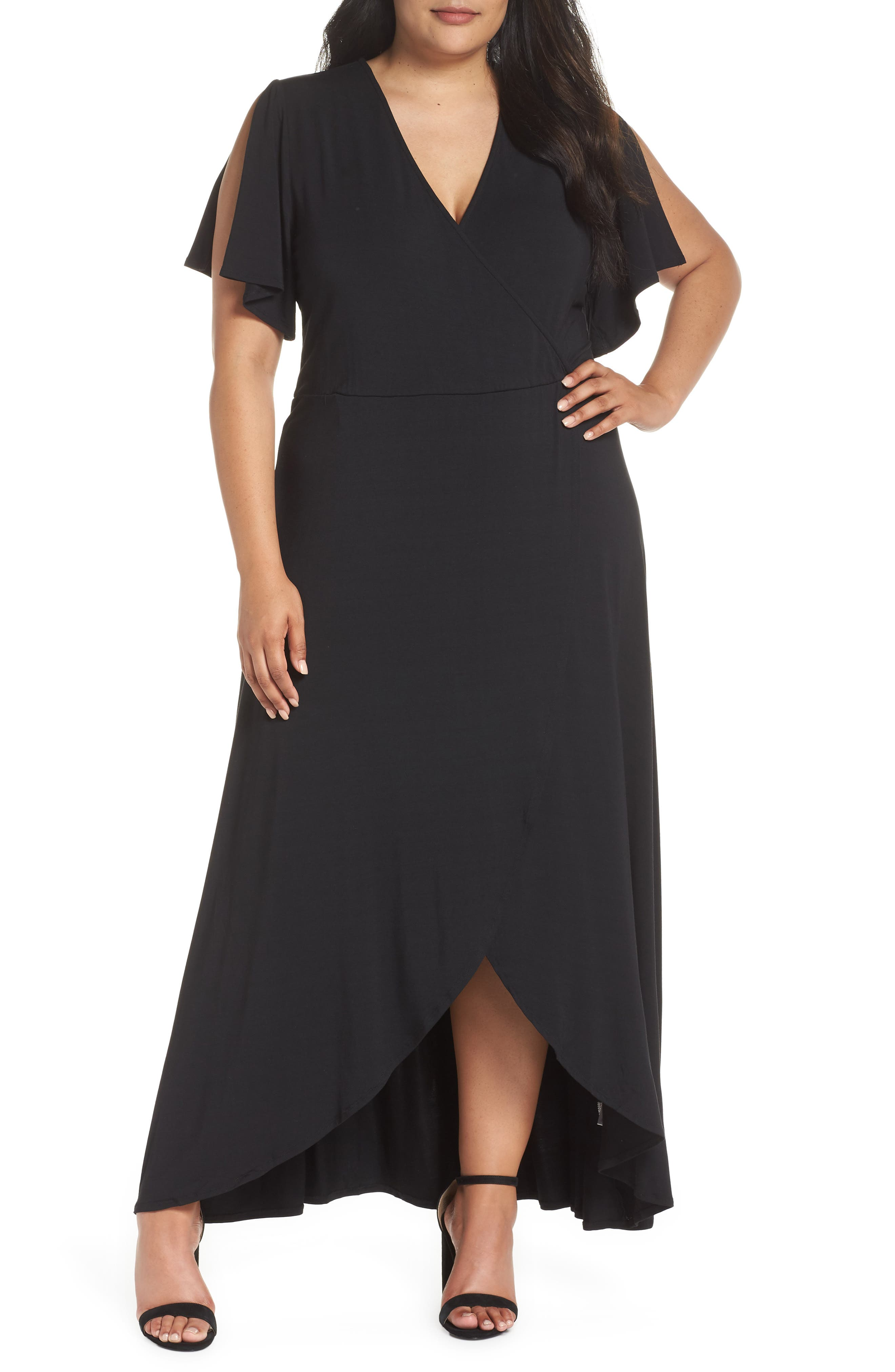 Plus Size Tart Nolan Maxi Dress, Black