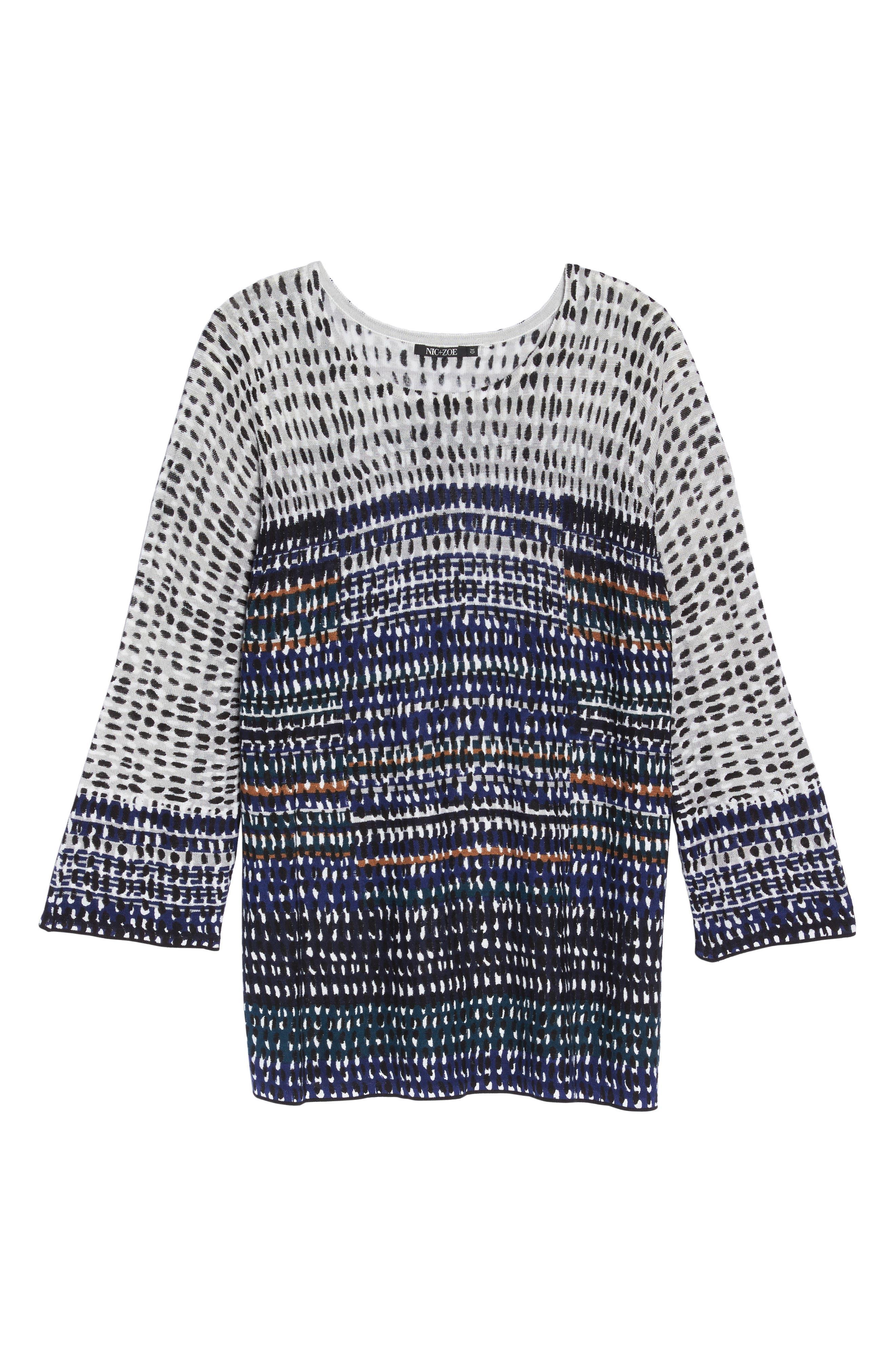 New Light Knit Tunic Top,                             Alternate thumbnail 6, color,
