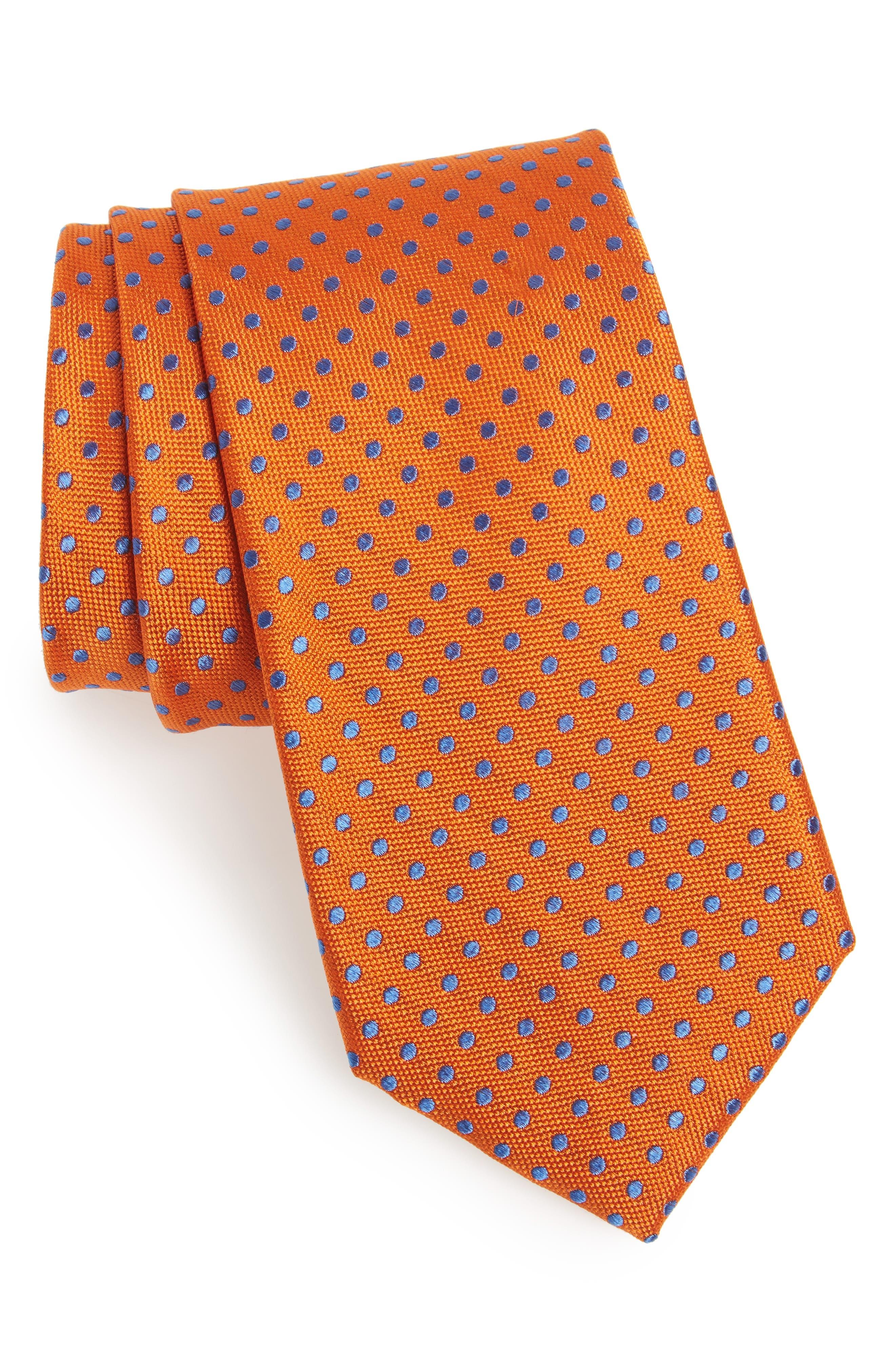 Norton Dot Silk Tie,                             Main thumbnail 8, color,