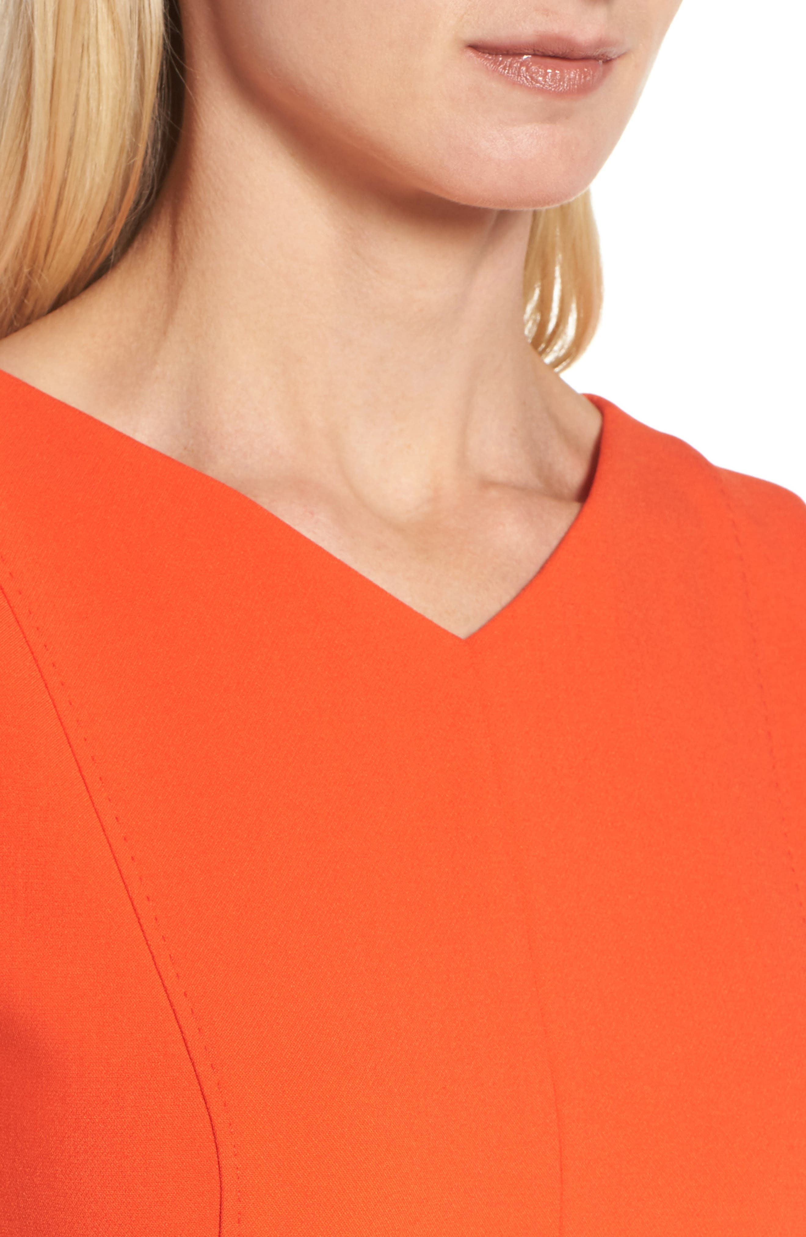 Delafea Sheath Dress,                             Alternate thumbnail 4, color,                             625