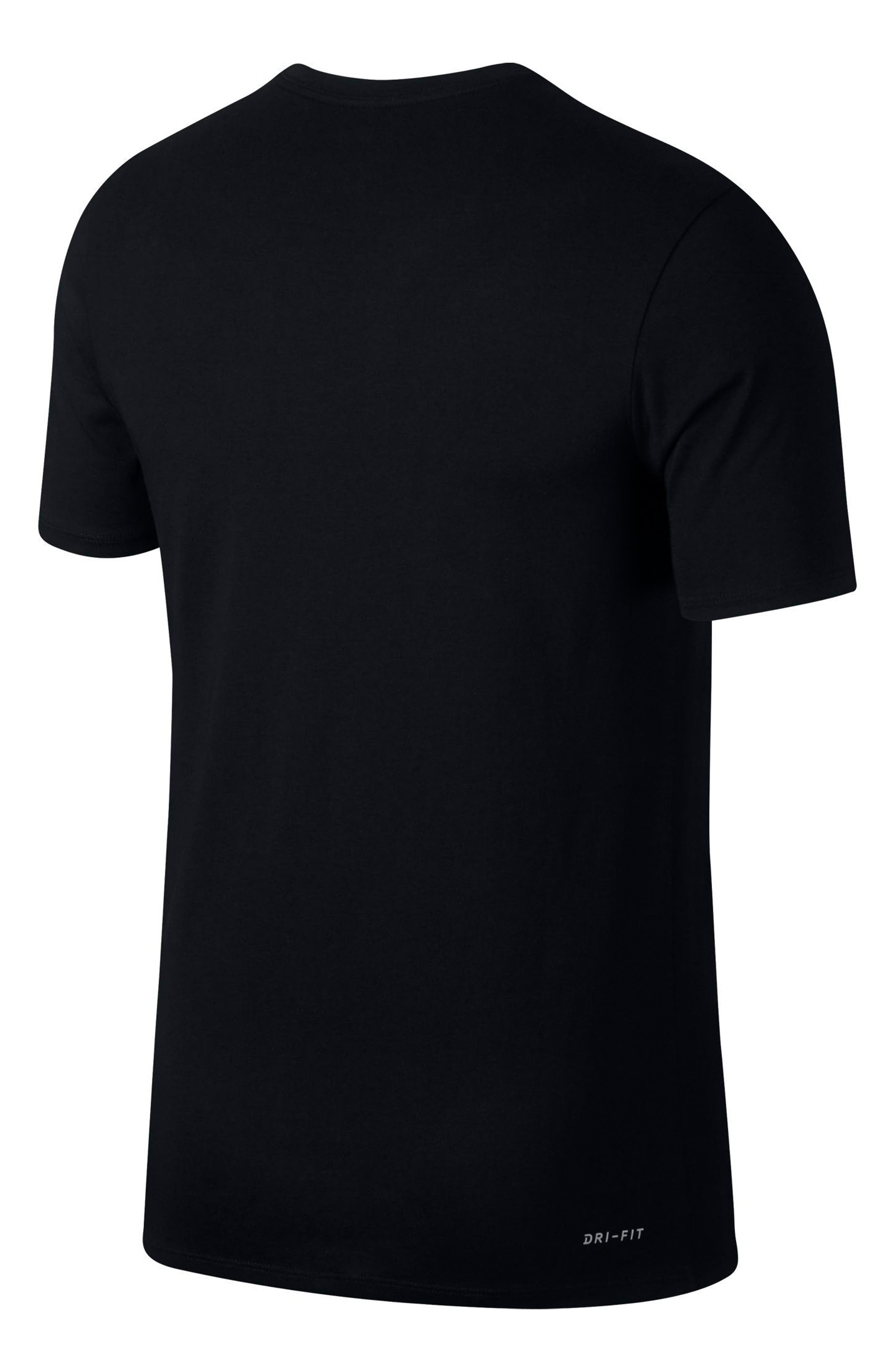 Dry Lockup T-Shirt,                             Alternate thumbnail 5, color,                             010