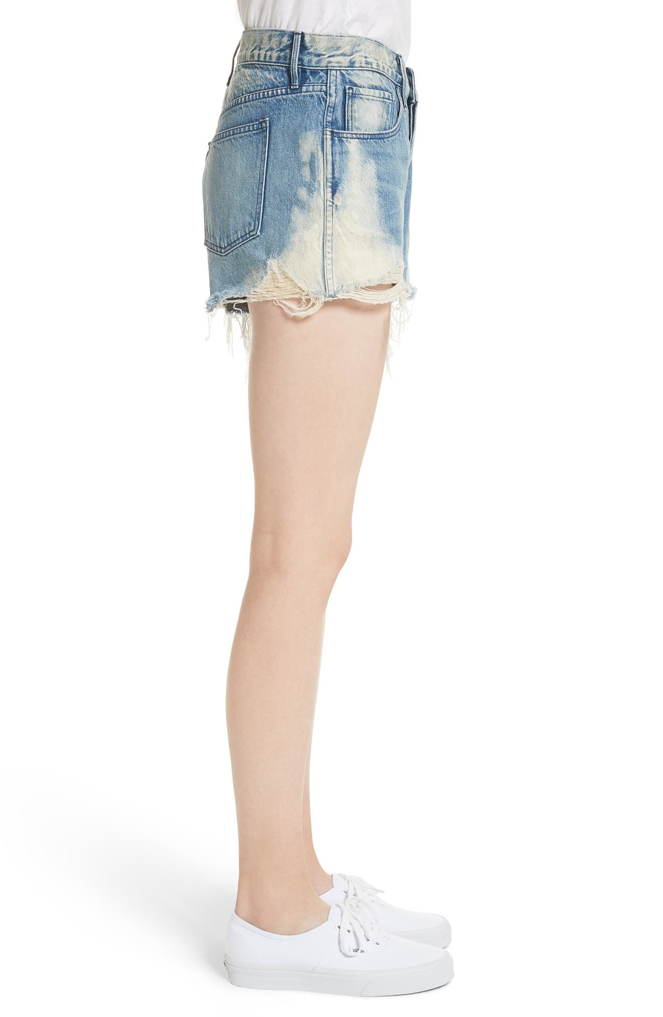 W2 Mason Denim Shorts,                             Alternate thumbnail 3, color,                             VANDAL