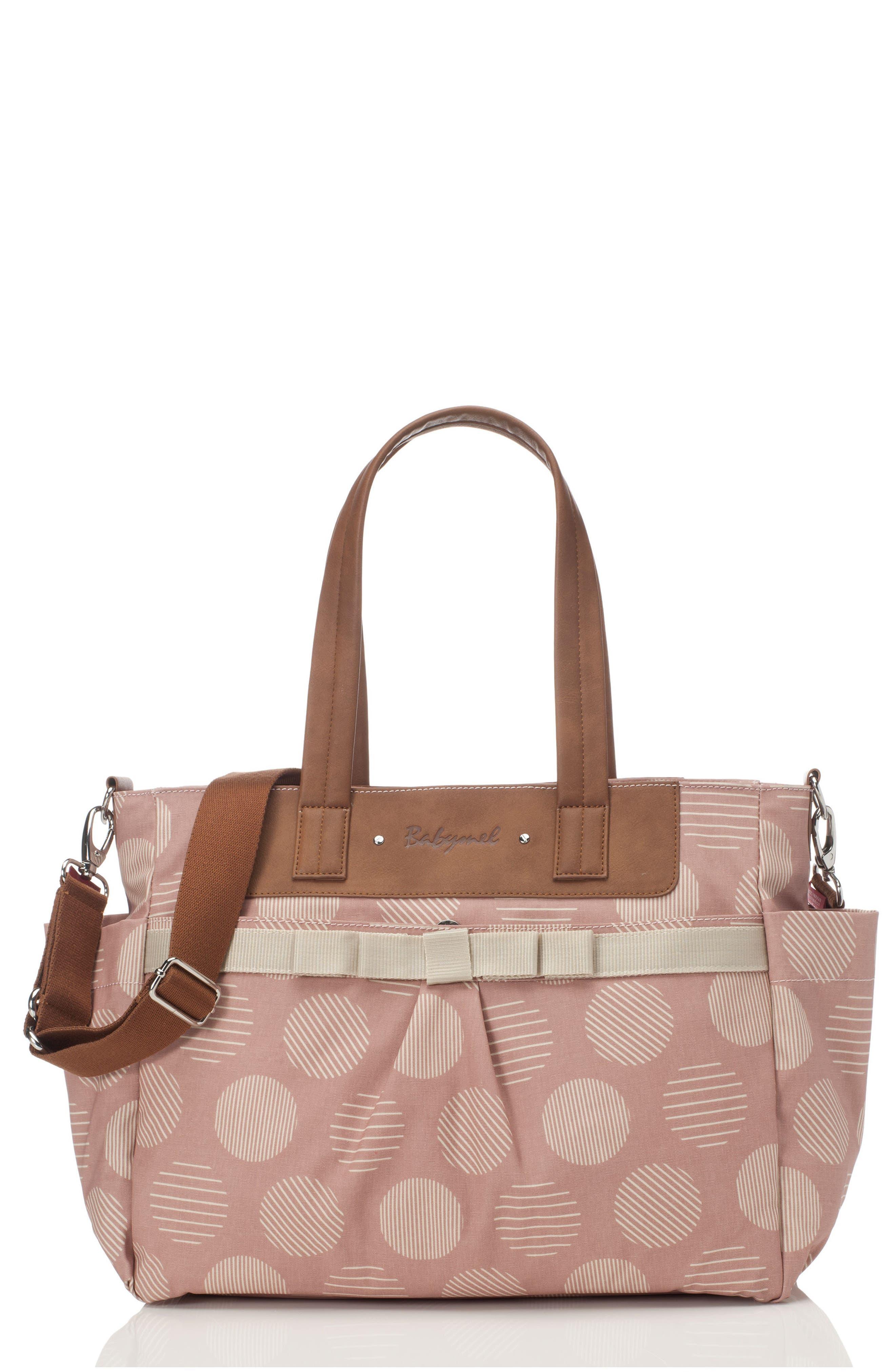 'Cara' Diaper Bag,                         Main,                         color, RETRO OYSTER