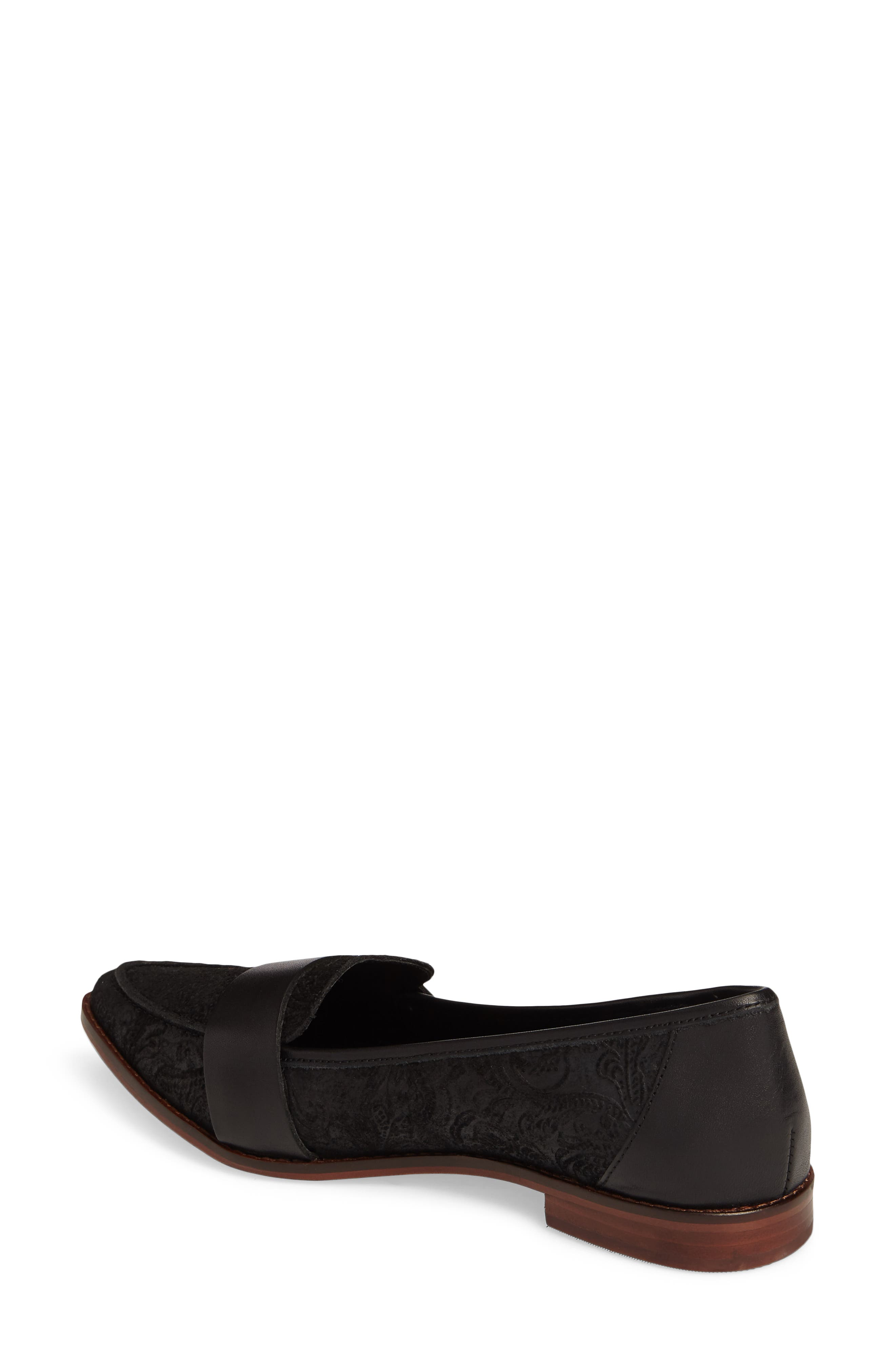 Edie Pointy Toe Loafer,                             Alternate thumbnail 14, color,