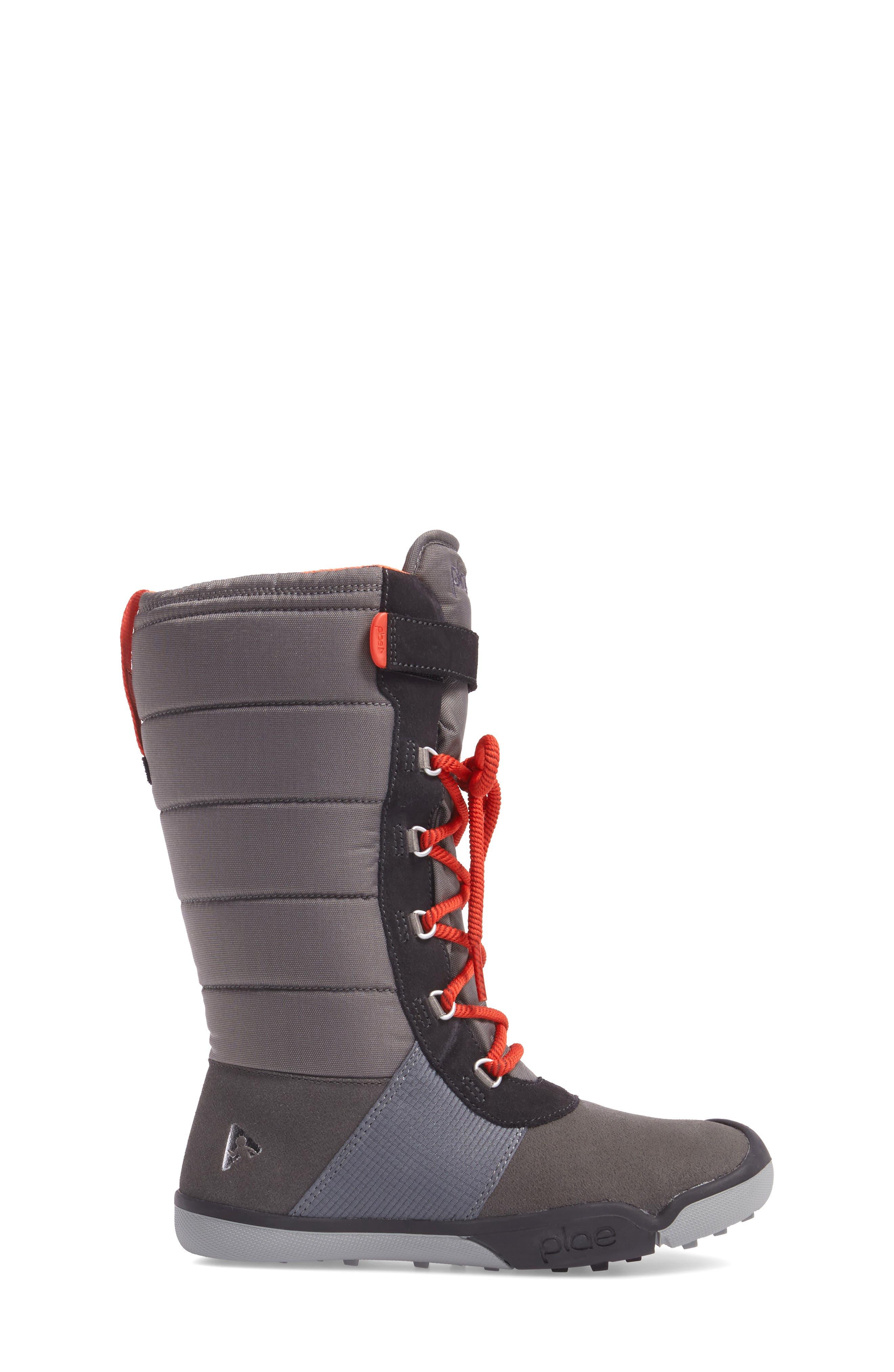 Jack Customizable Waterproof Boot,                             Alternate thumbnail 3, color,                             DARK