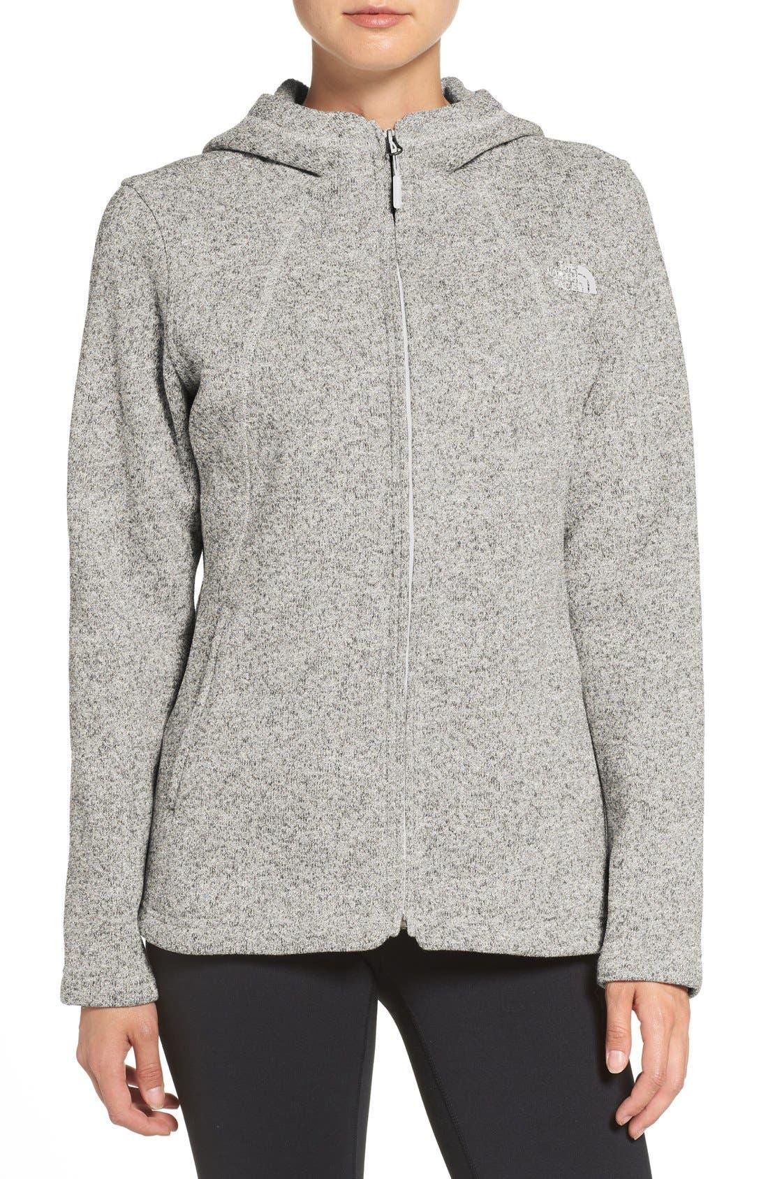 'Crescent' Fleece Jacket,                             Main thumbnail 4, color,