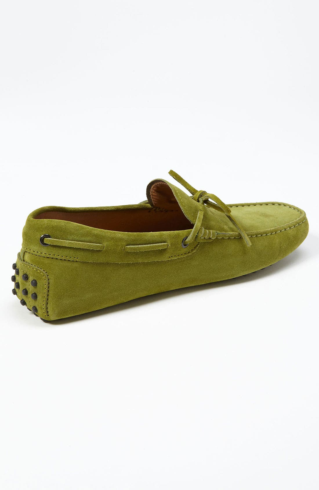 Gommini Tie Front Driving Moccasin,                             Alternate thumbnail 75, color,