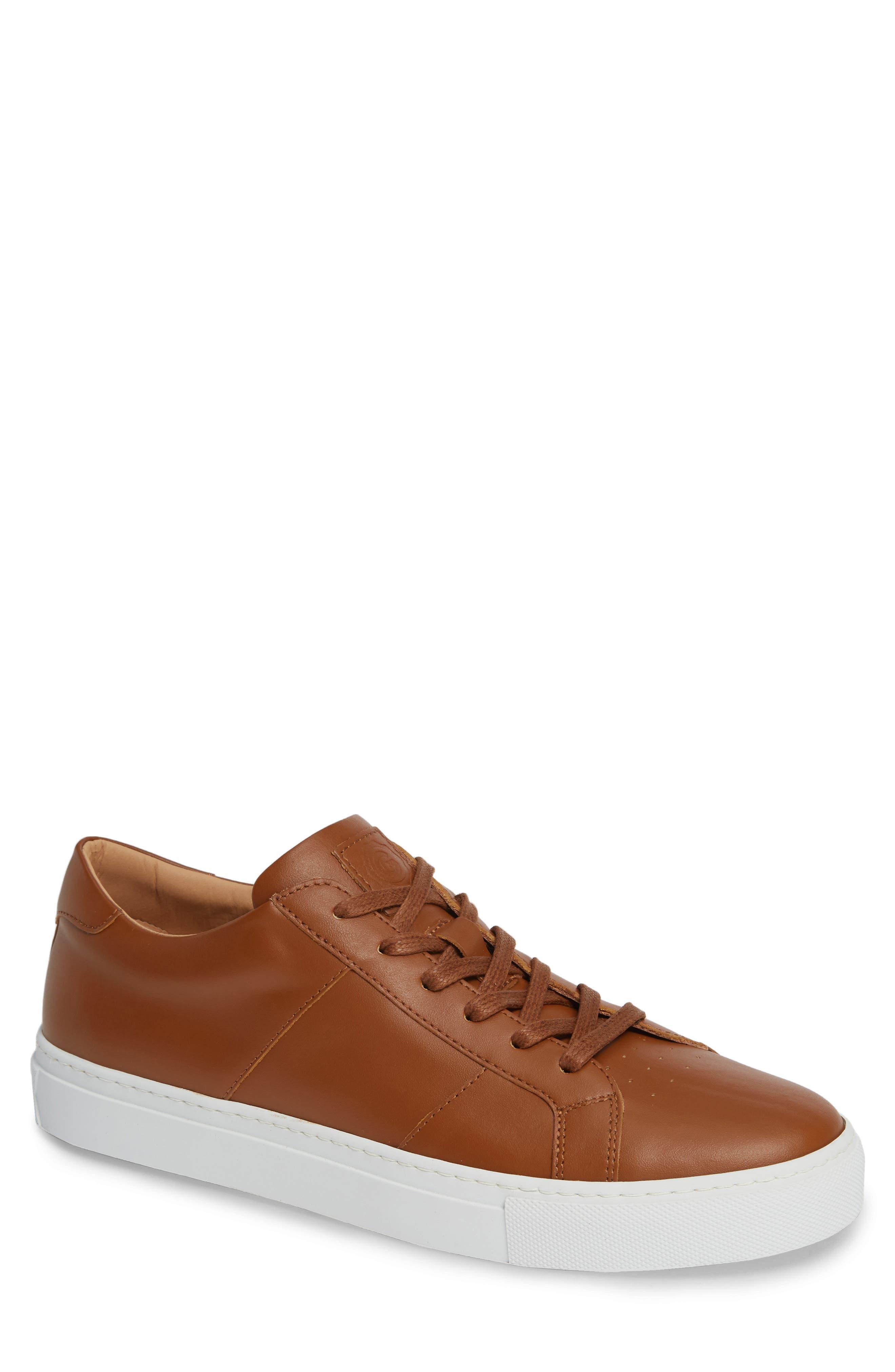 Royale Sneaker,                             Main thumbnail 1, color,                             TAN LEATHER