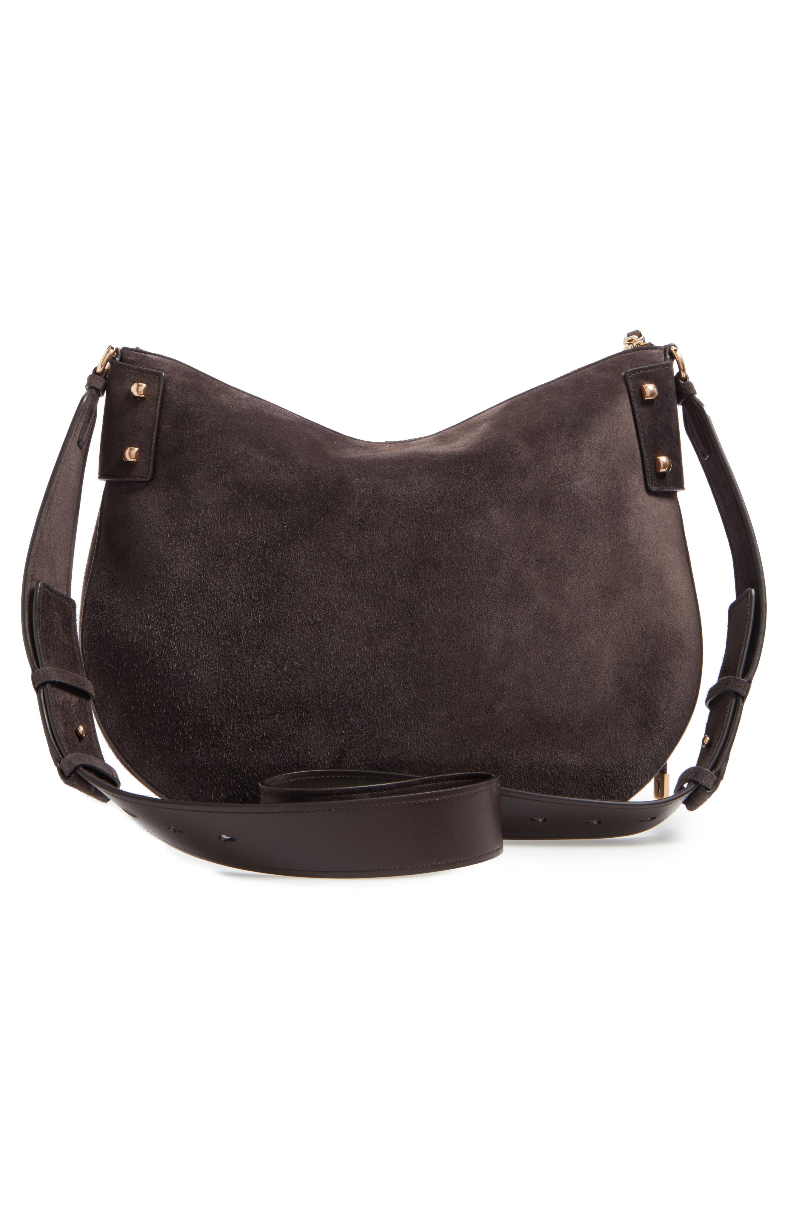 Suede Hobo,                             Alternate thumbnail 3, color,                             033