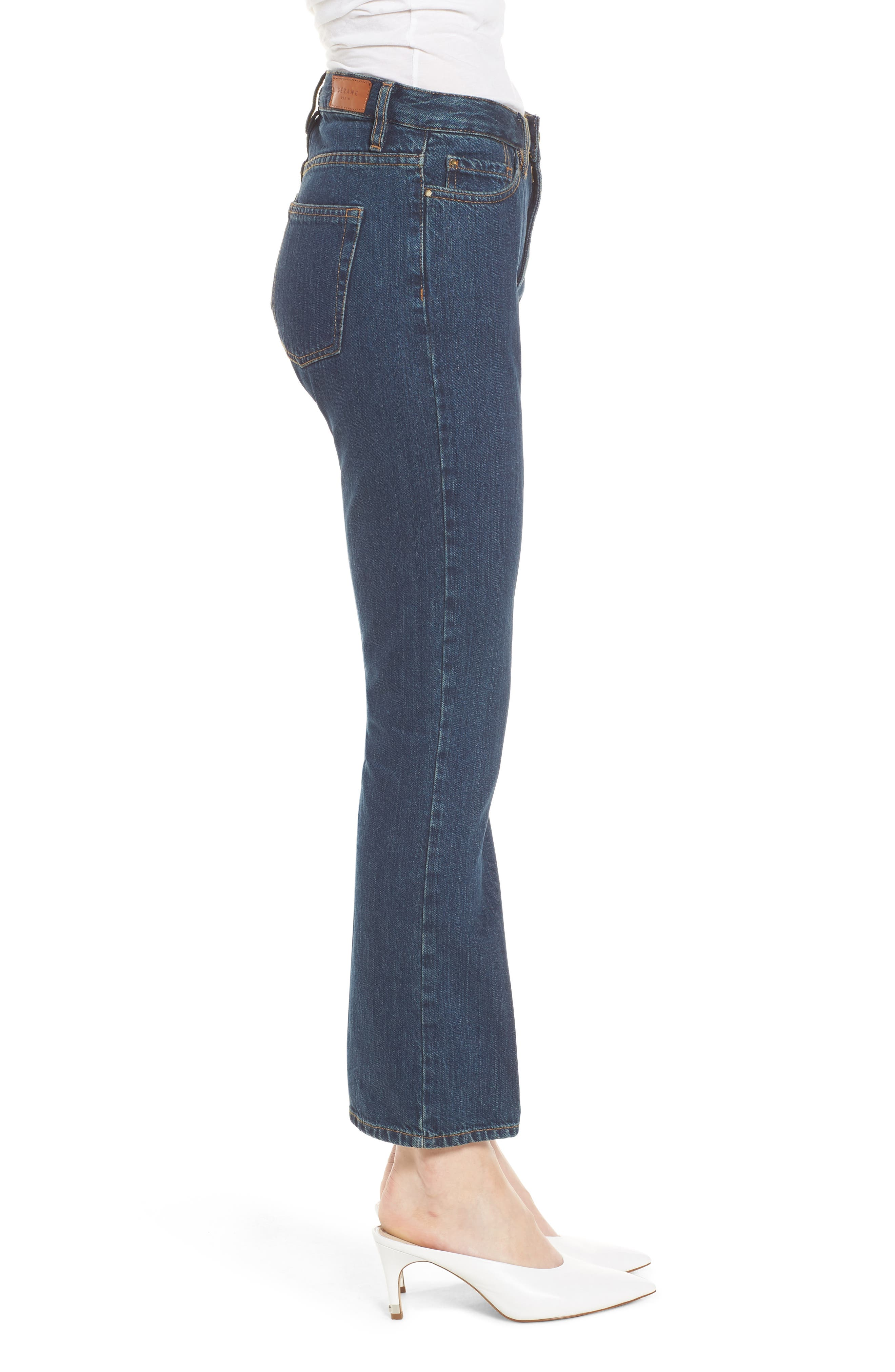 1970 The Flared Crop Jeans,                             Alternate thumbnail 10, color,