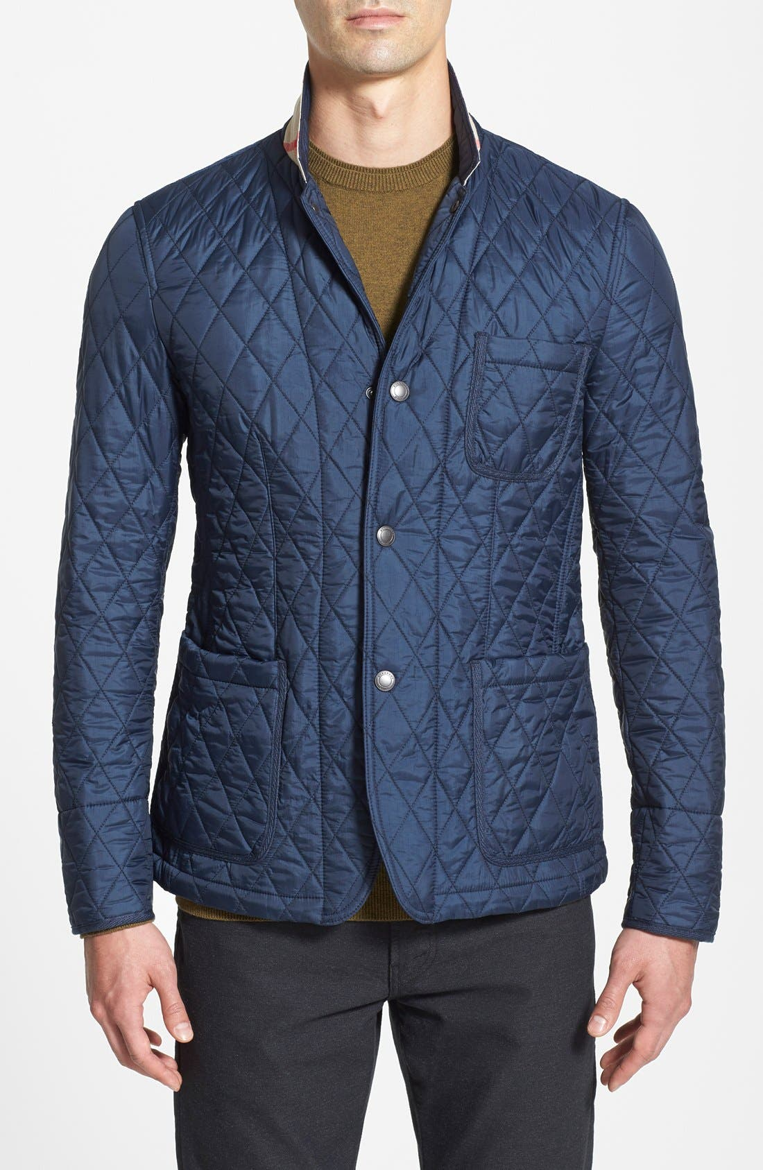 'Howe' Quilted Sport Jacket, Main, color, 410